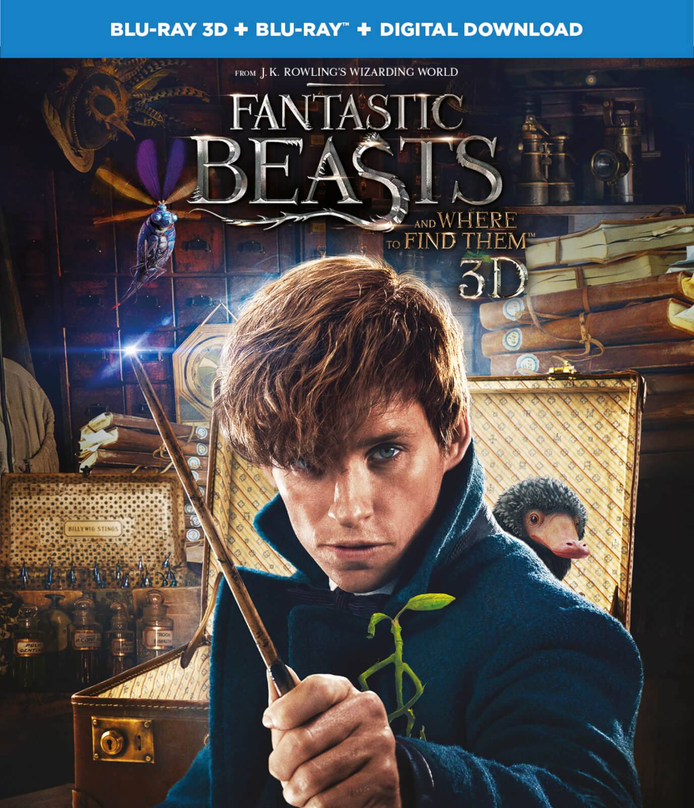 Warner Home Video Fantastic Beasts and Where To Find Them 3D (Includes 2D Version)