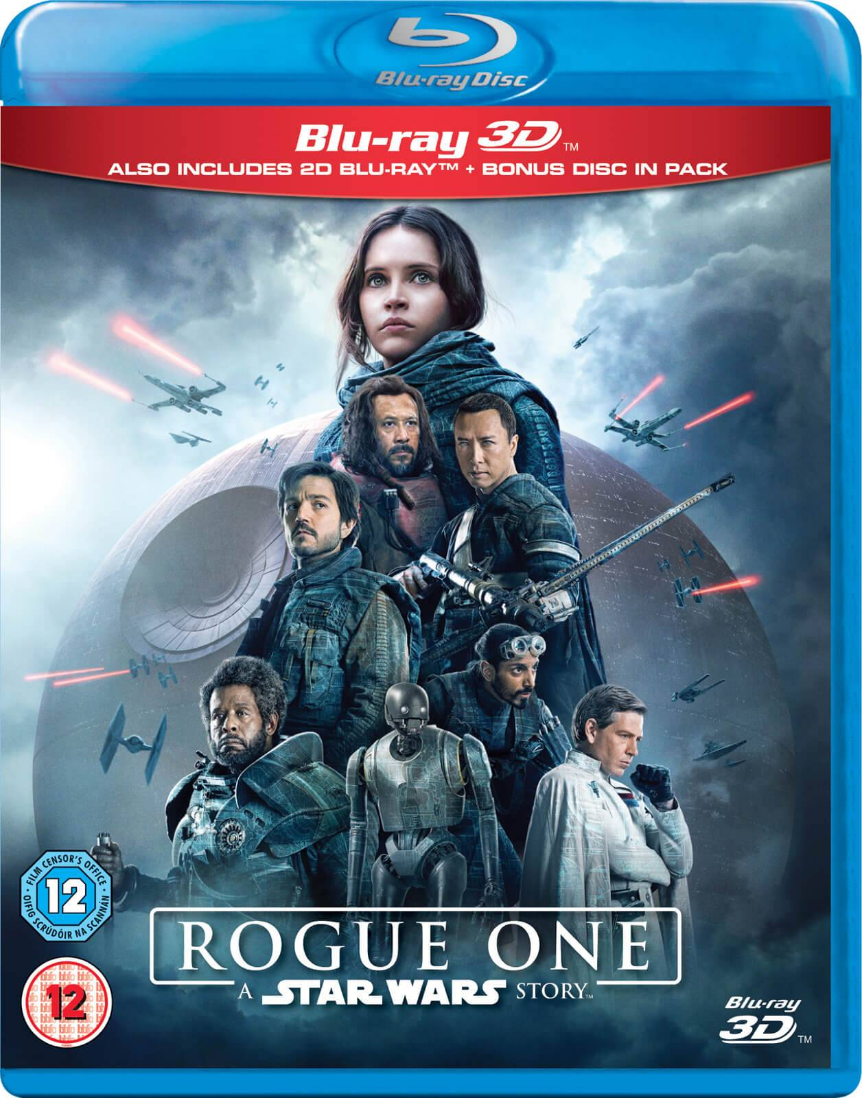 Disney Rogue One: A Star Wars Story 3D (Includes 2D Version)