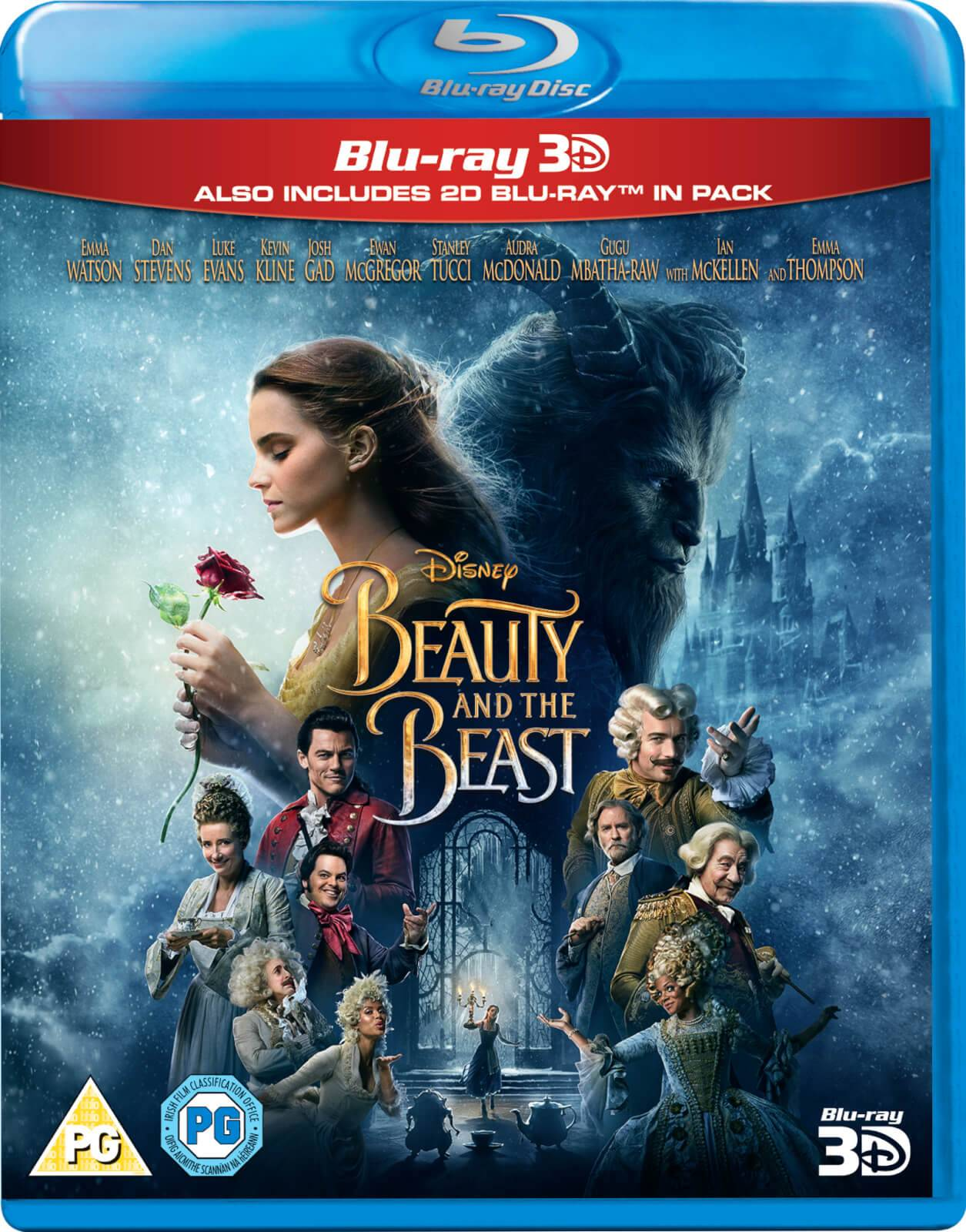 Disney Beauty & The Beast 3D (Includes 2D Version)