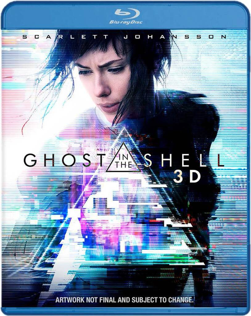 Paramount Home Entertainment Ghost In The Shell 3D (Includes 2D Version) (Includes Digital Download)