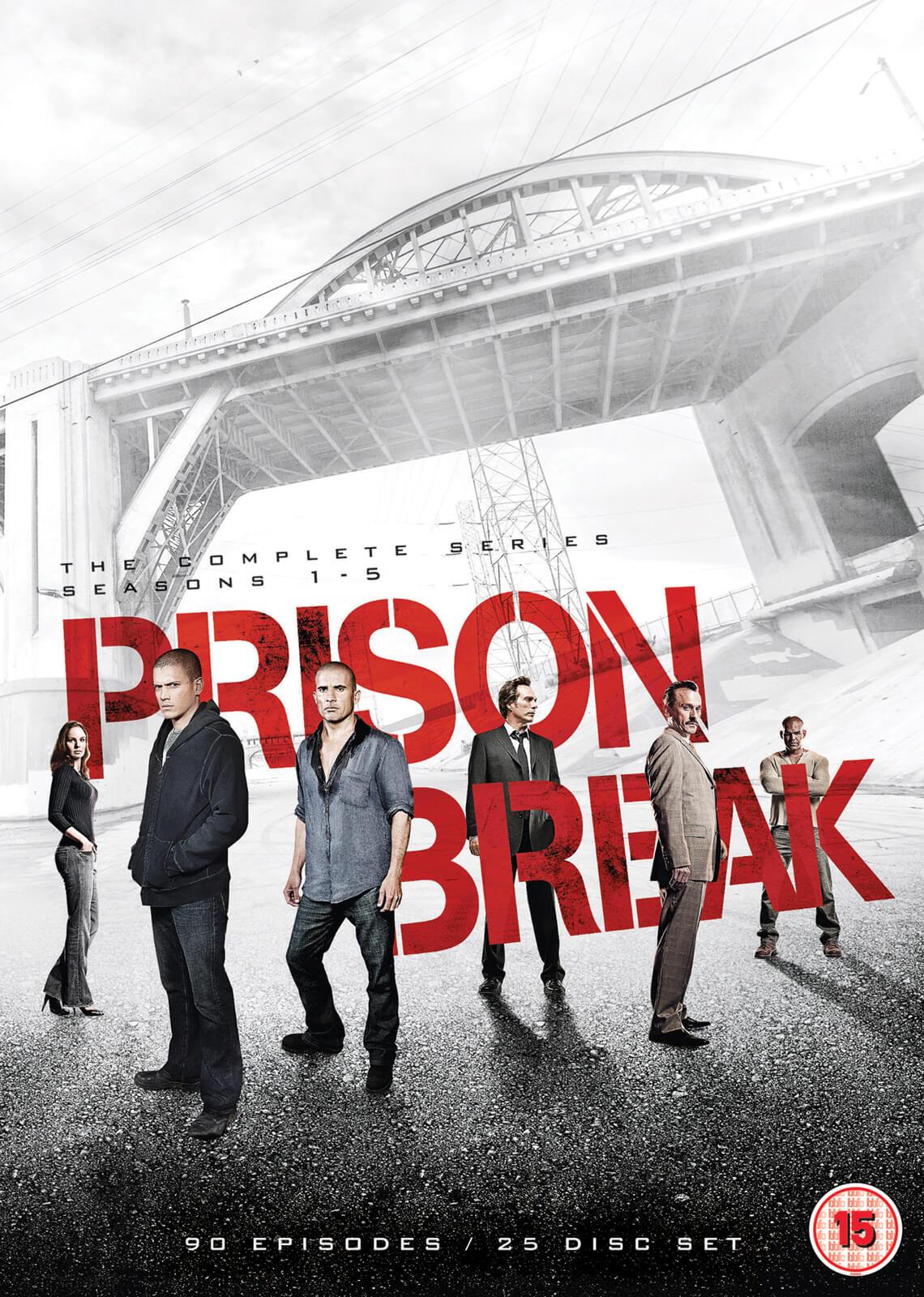 20th Century Fox Prison Break - Season 1-5 Complete Boxset