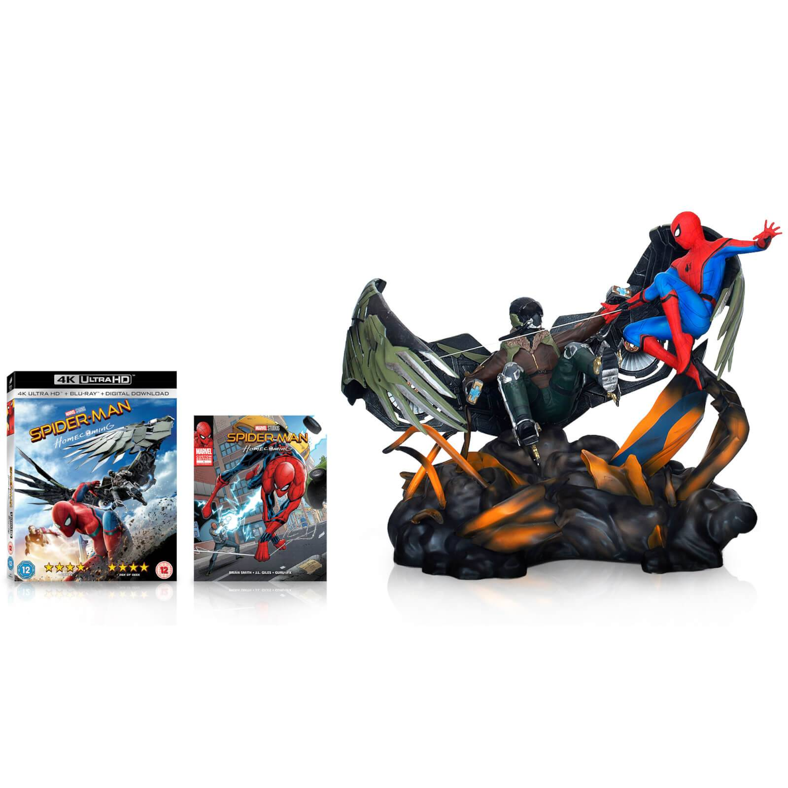 Sony Spider-Man Homecoming - 4K Ultra HD - Figurine + Comic Book