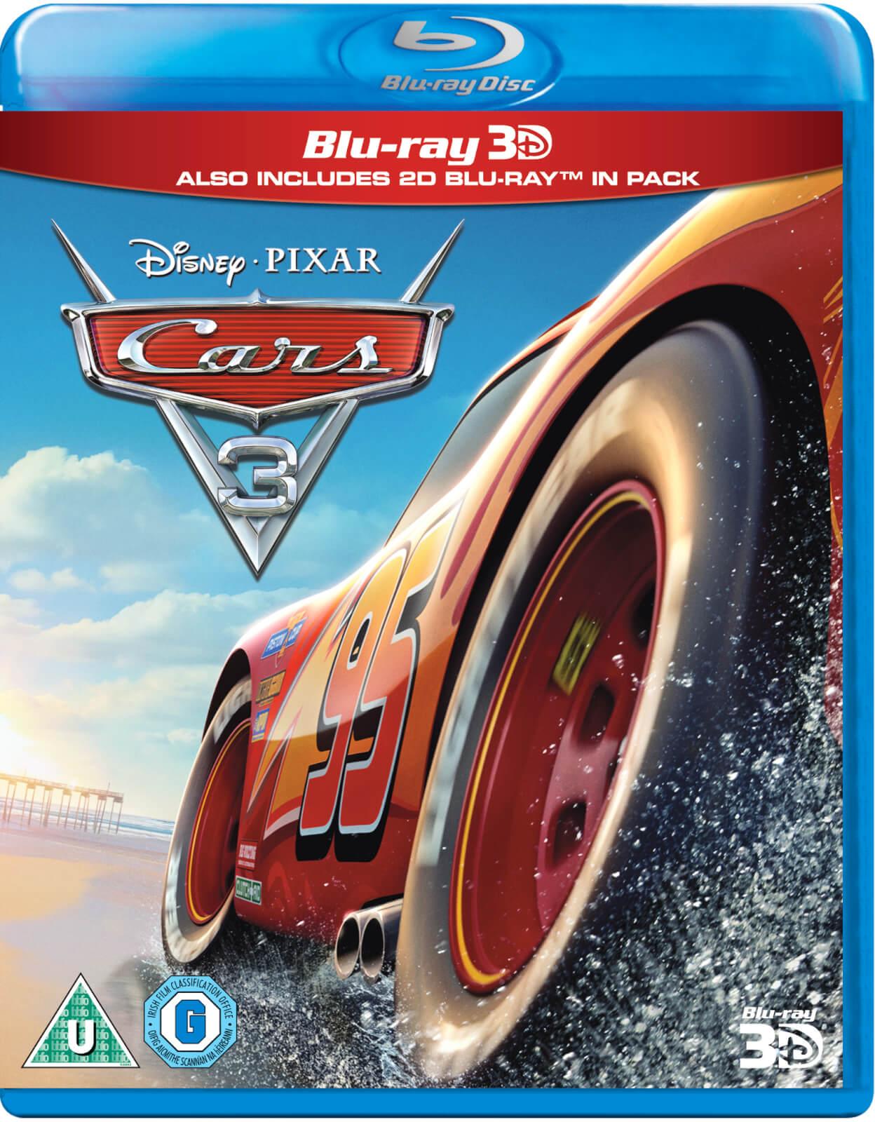 Disney Cars 3 3D (Includes 2D Version)