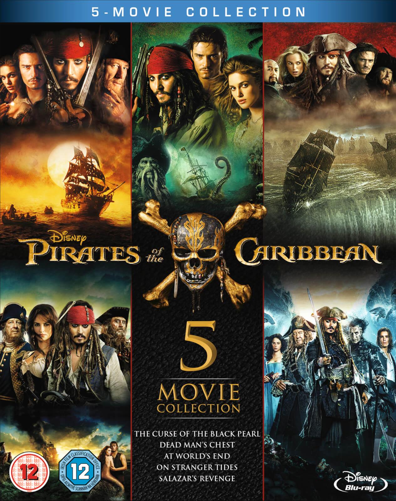 Disney Pirates of the Caribbean: 1-5 Box Set