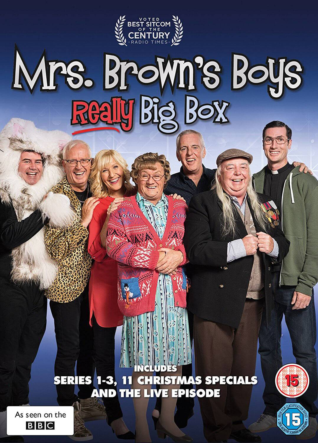 Universal Pictures Mrs Brown's Boys Really Big Box