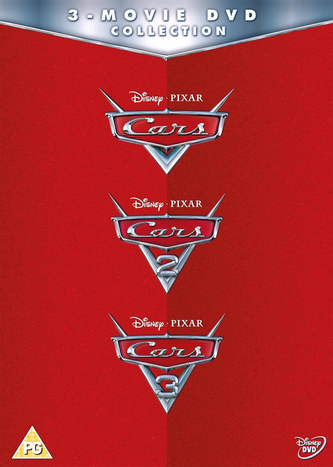 Disney Cars 1-3 Boxset