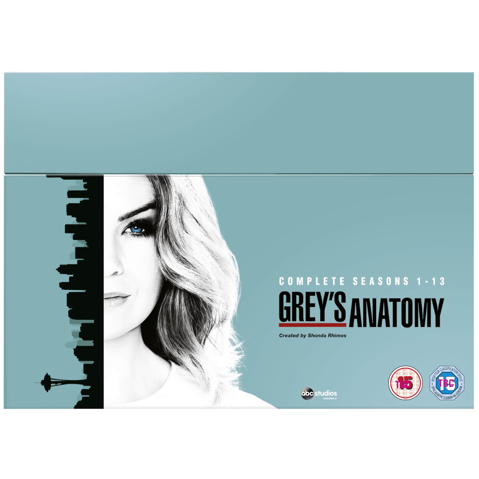 Disney Grey's Anatomy - Season 1-13 Boxset