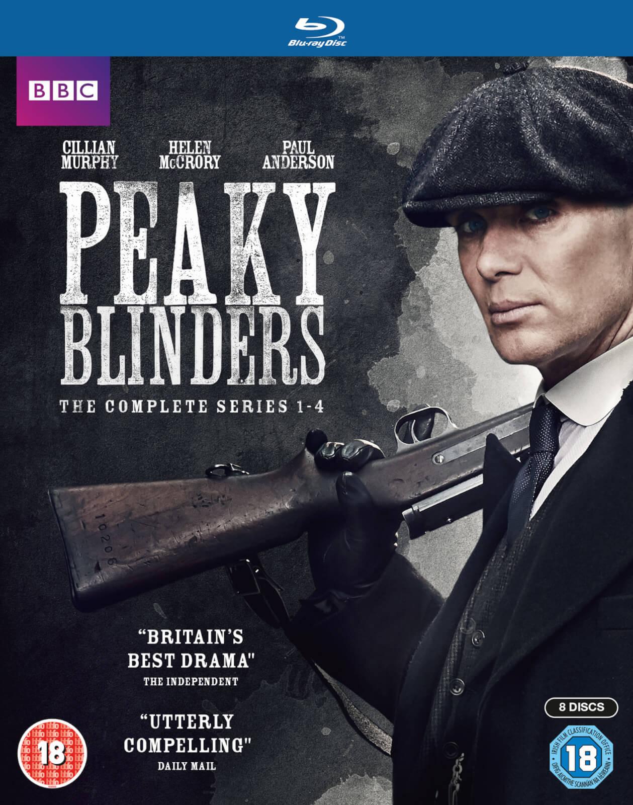 BBC Peaky Blinders - Series 1-4 Boxset