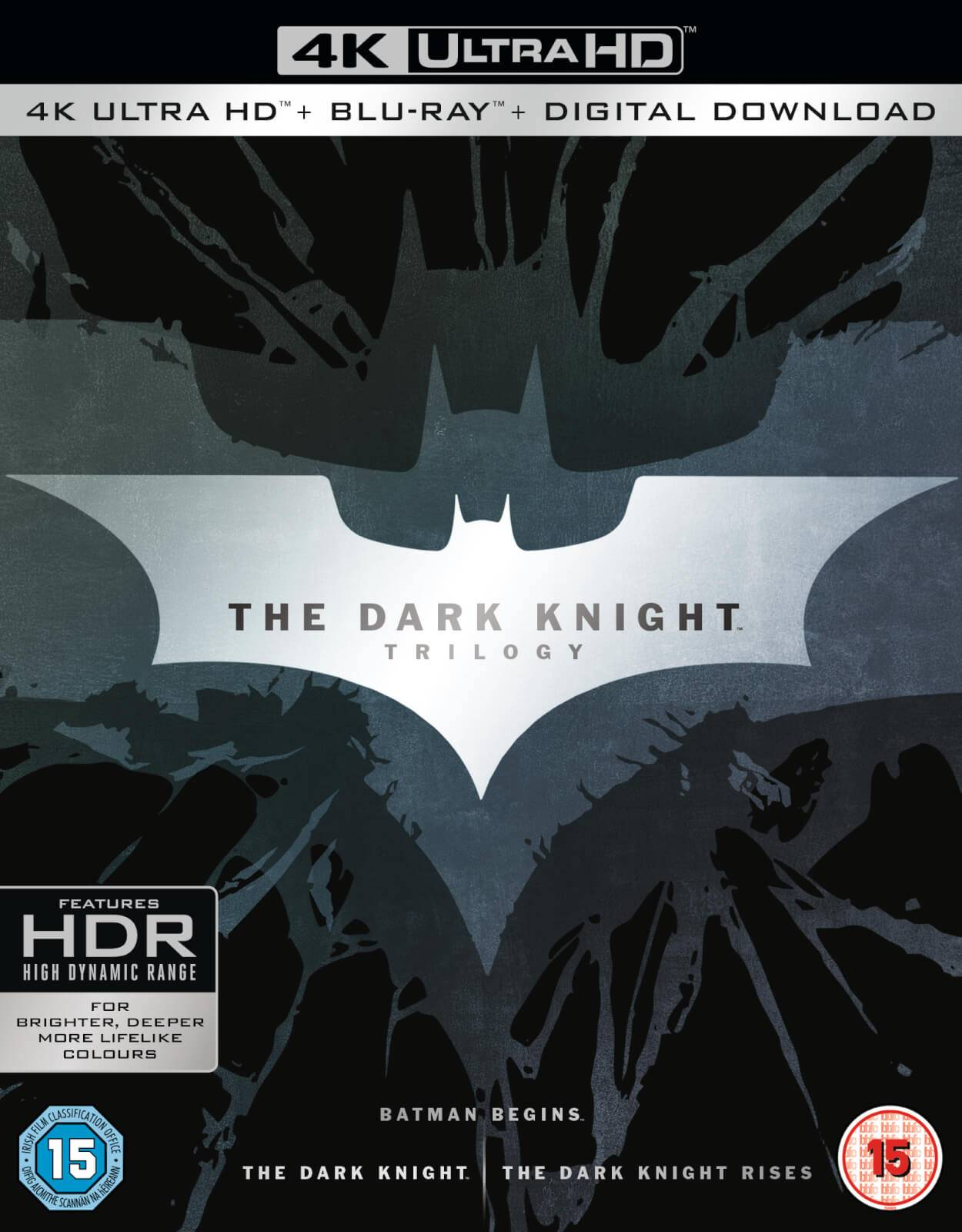 Warner Home Video The Dark Knight Trilogy - 4K Ultra HD