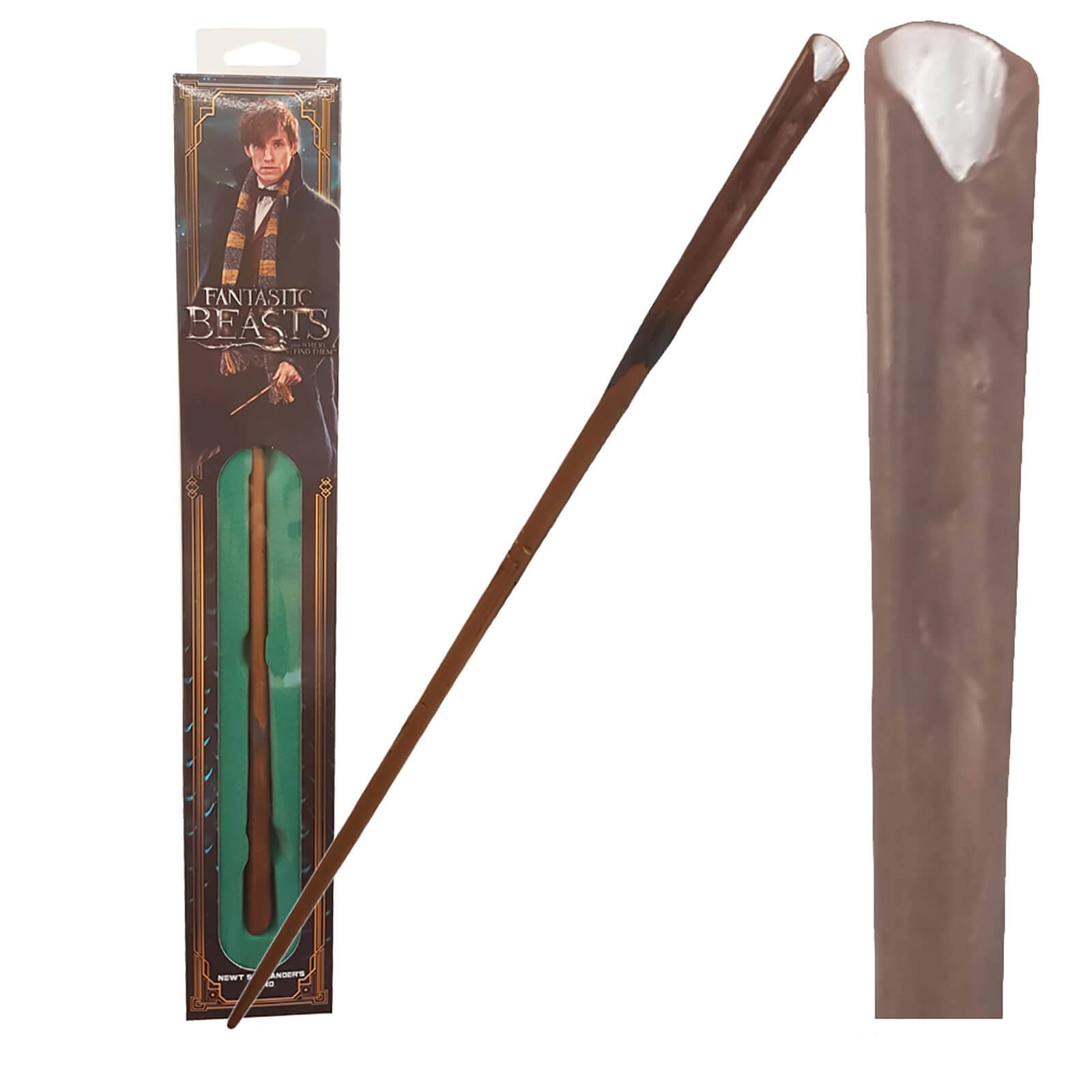 Noble Collection Fantastic Beasts and Where to Find Them Newt Scamander's Wand with Window Box