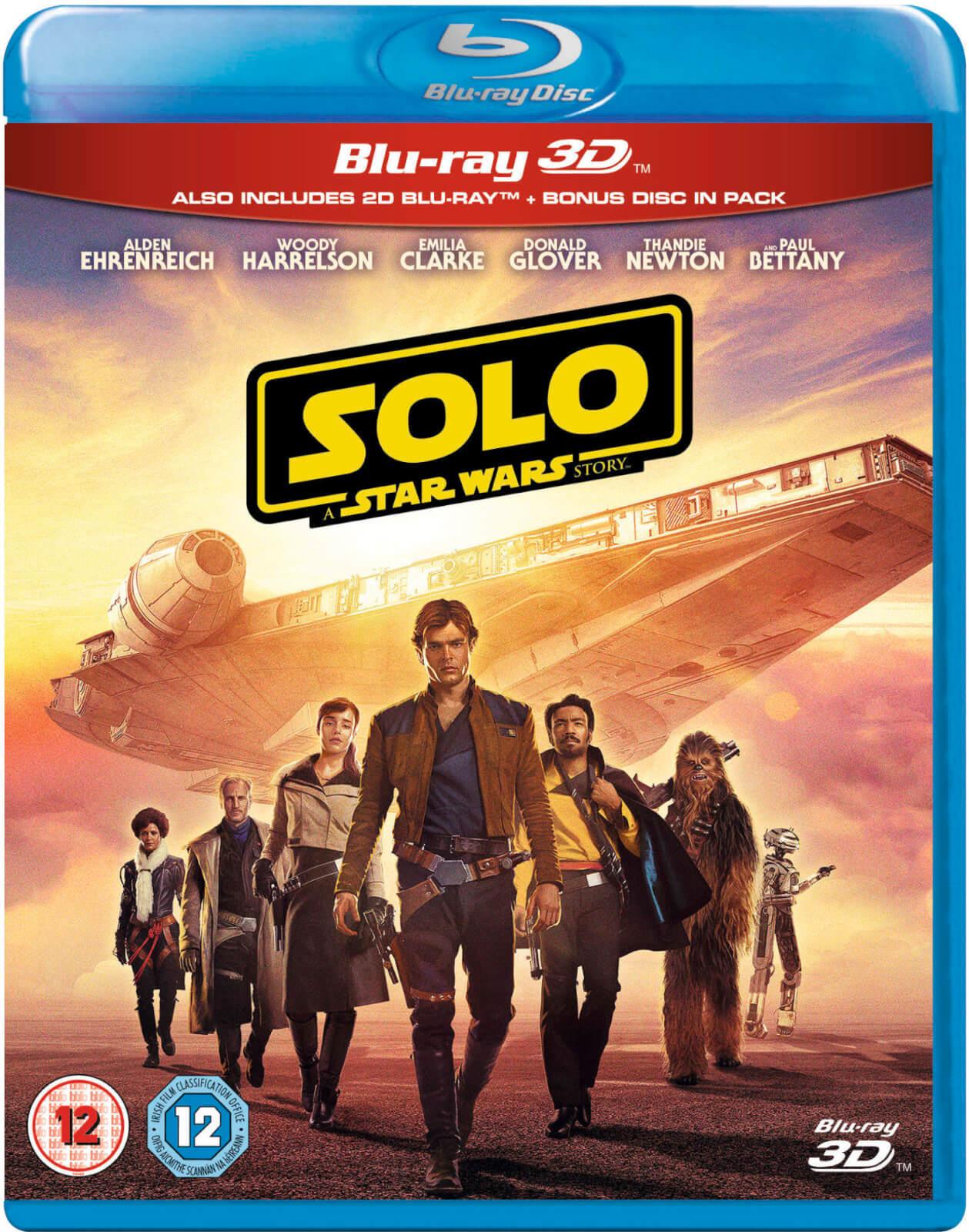 Disney Solo: A Star Wars Story 3D