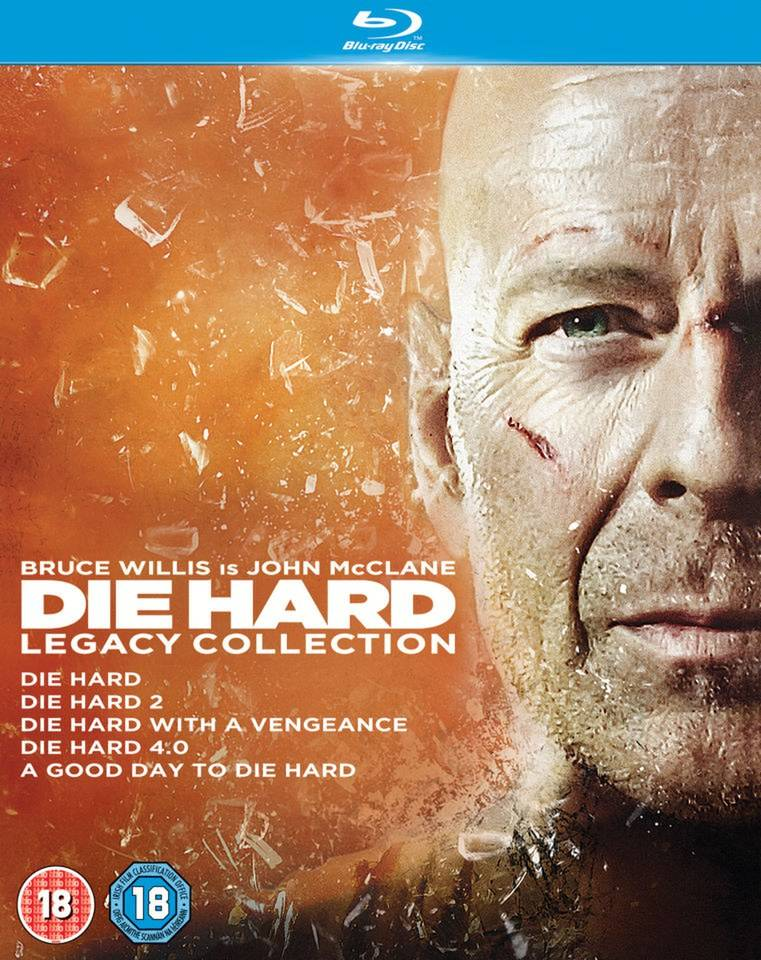 20th Century Fox Die Hard 1-5 Legacy Collection (5 Discs)