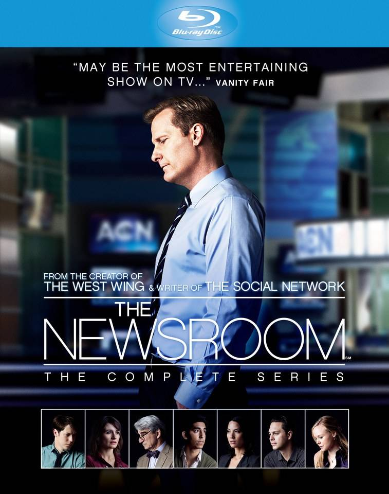 HBO The Newsroom - Season 1-3