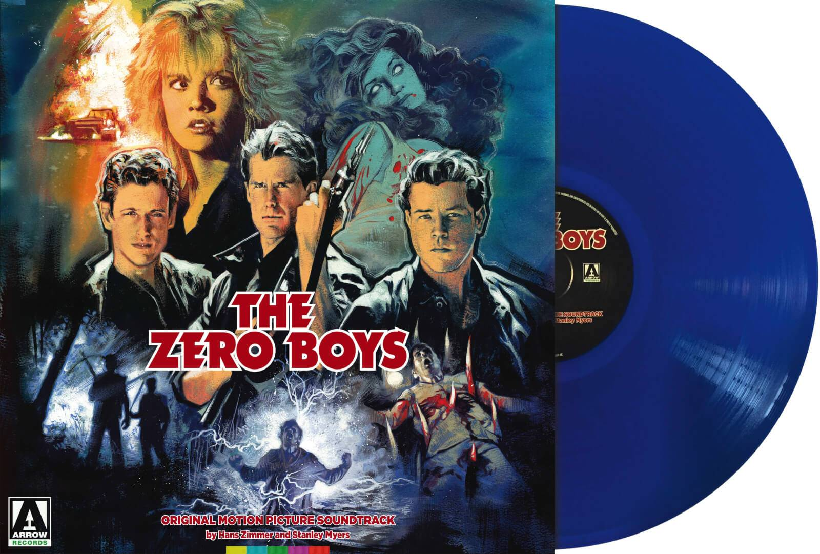 Arrow Video The Zero Boys - Blue Vinyl (1LP)