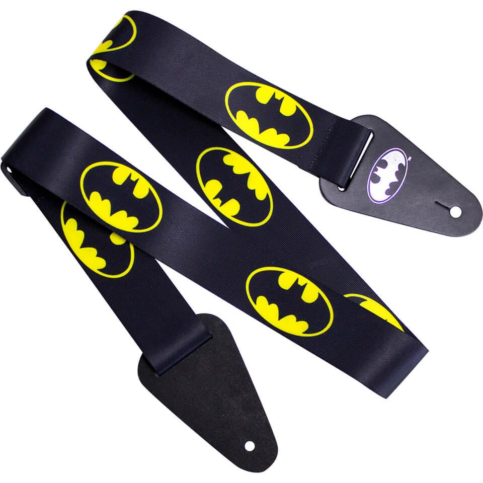 Access All Areas Batman Logo Fabric Guitar Strap