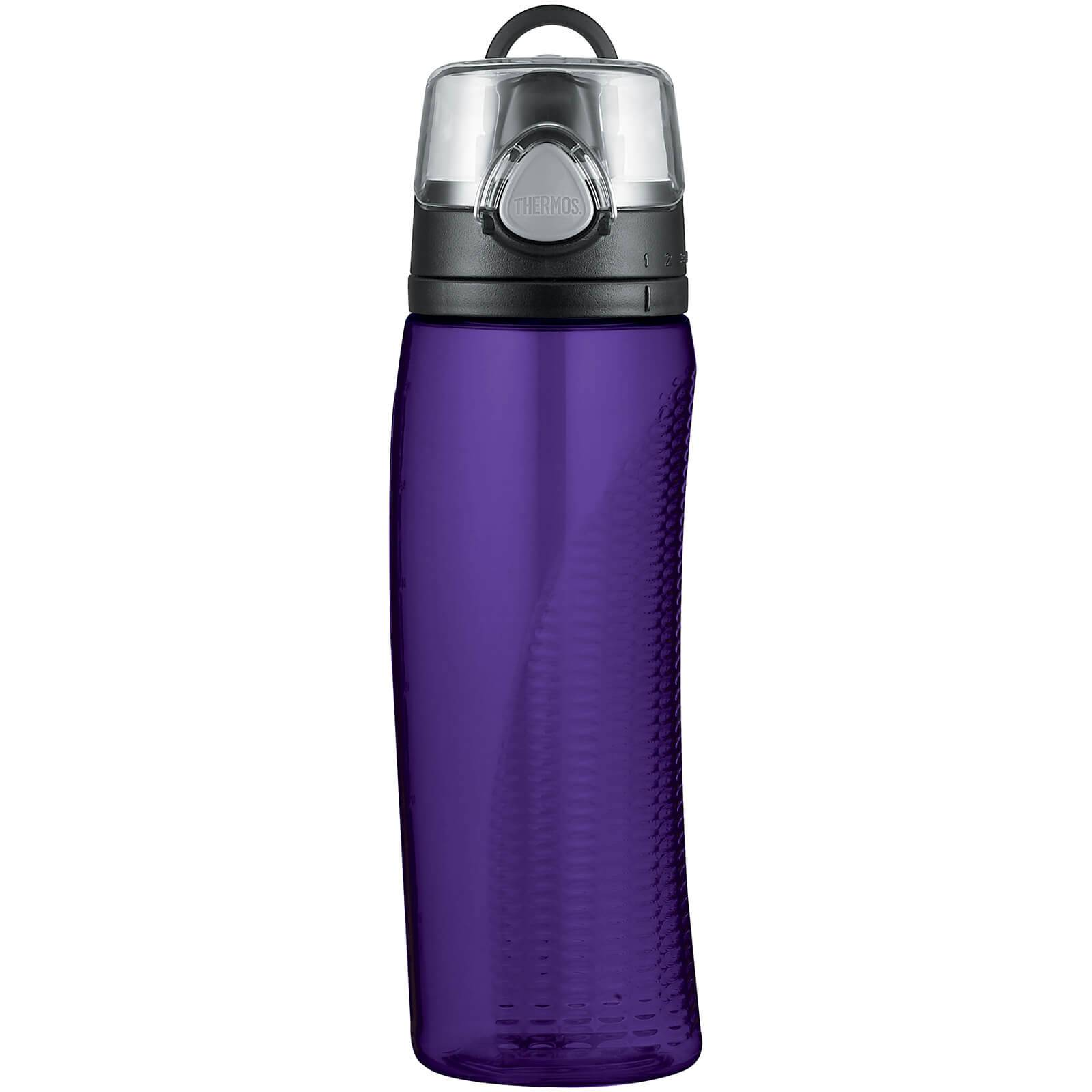 Thermos Hydration Bottle with Meter - Deep Purple 710ml
