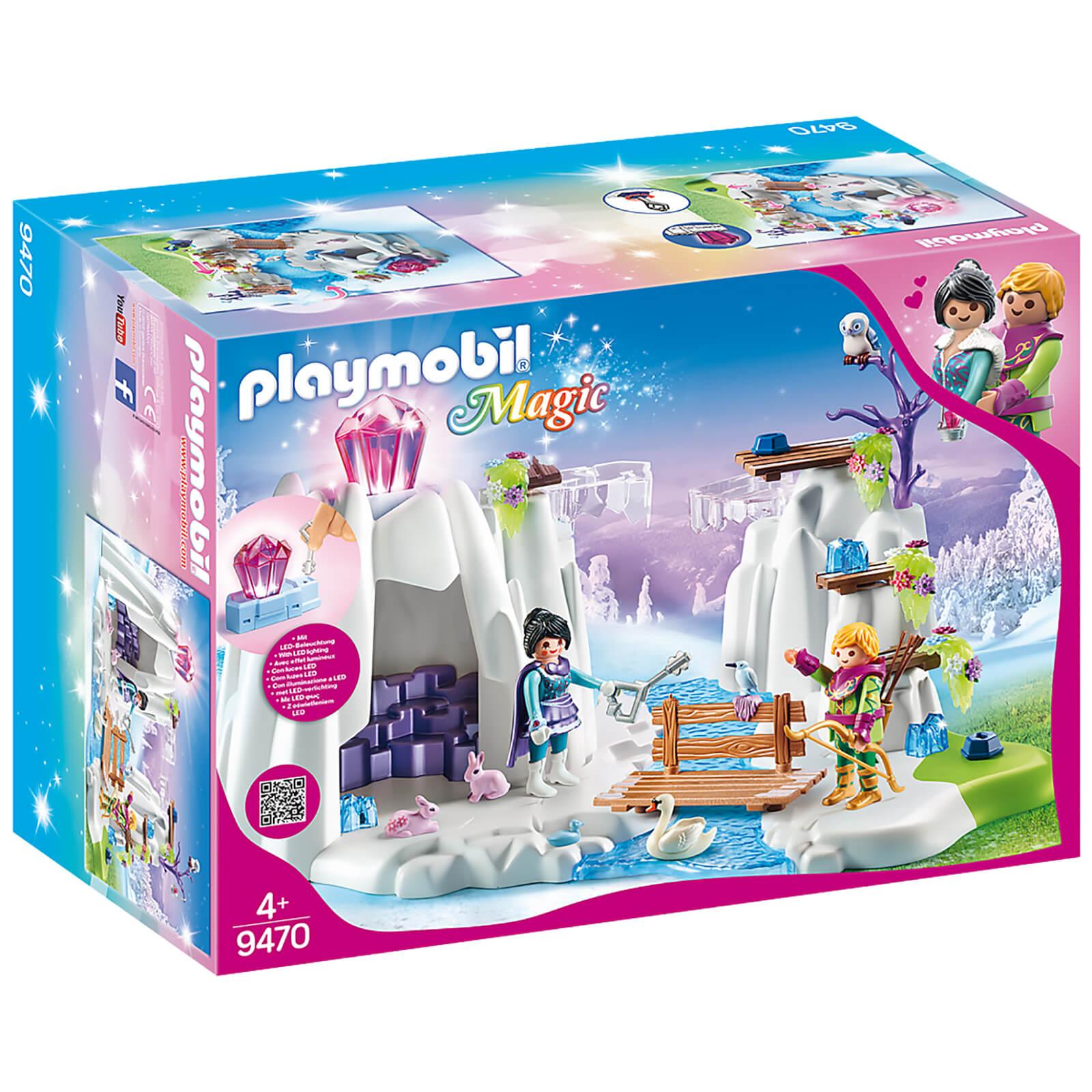 Playmobil Magic Crystal Diamond Hideout with Shiny Crystal (9470)