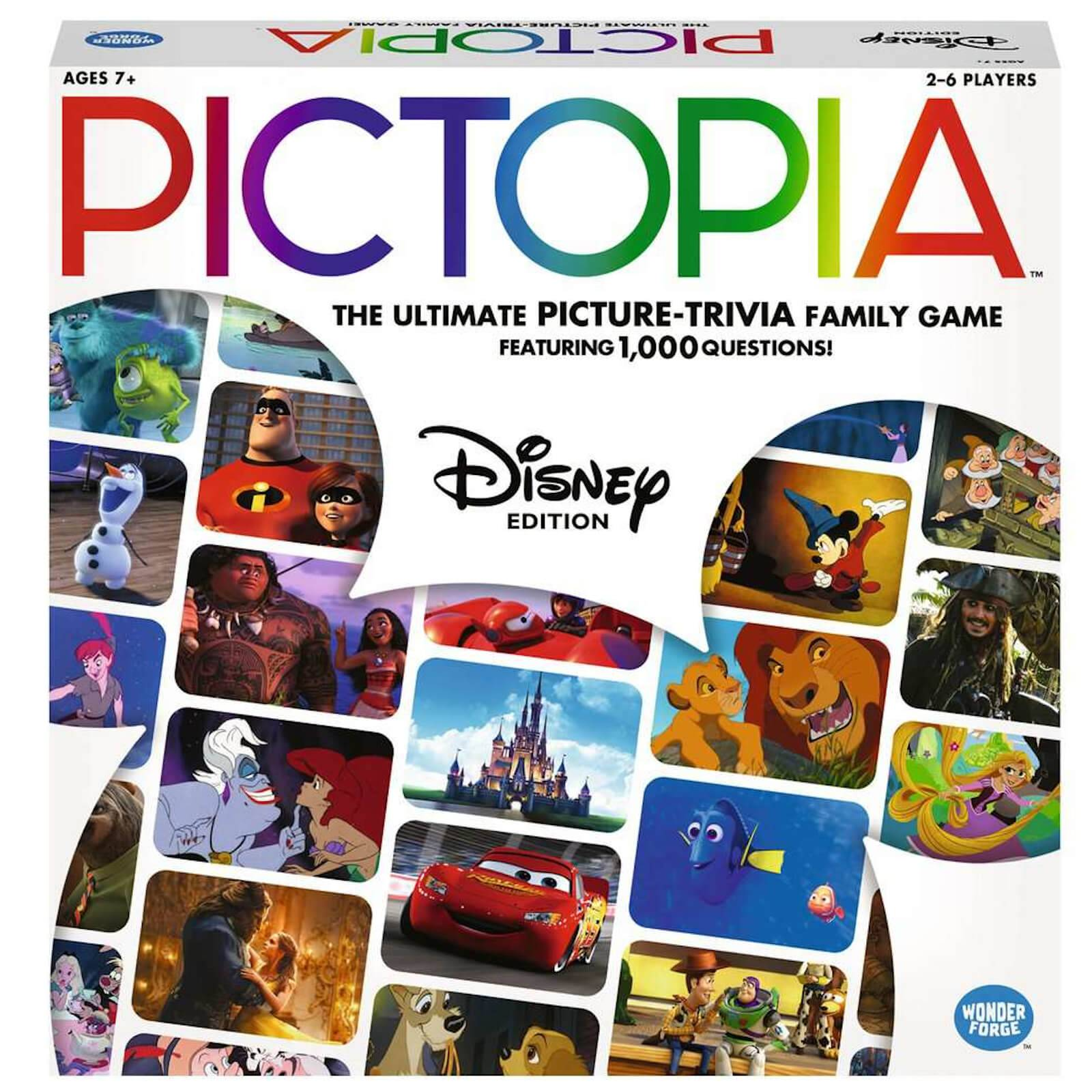 Ravensburger Pictopia Board Game - Disney Edition