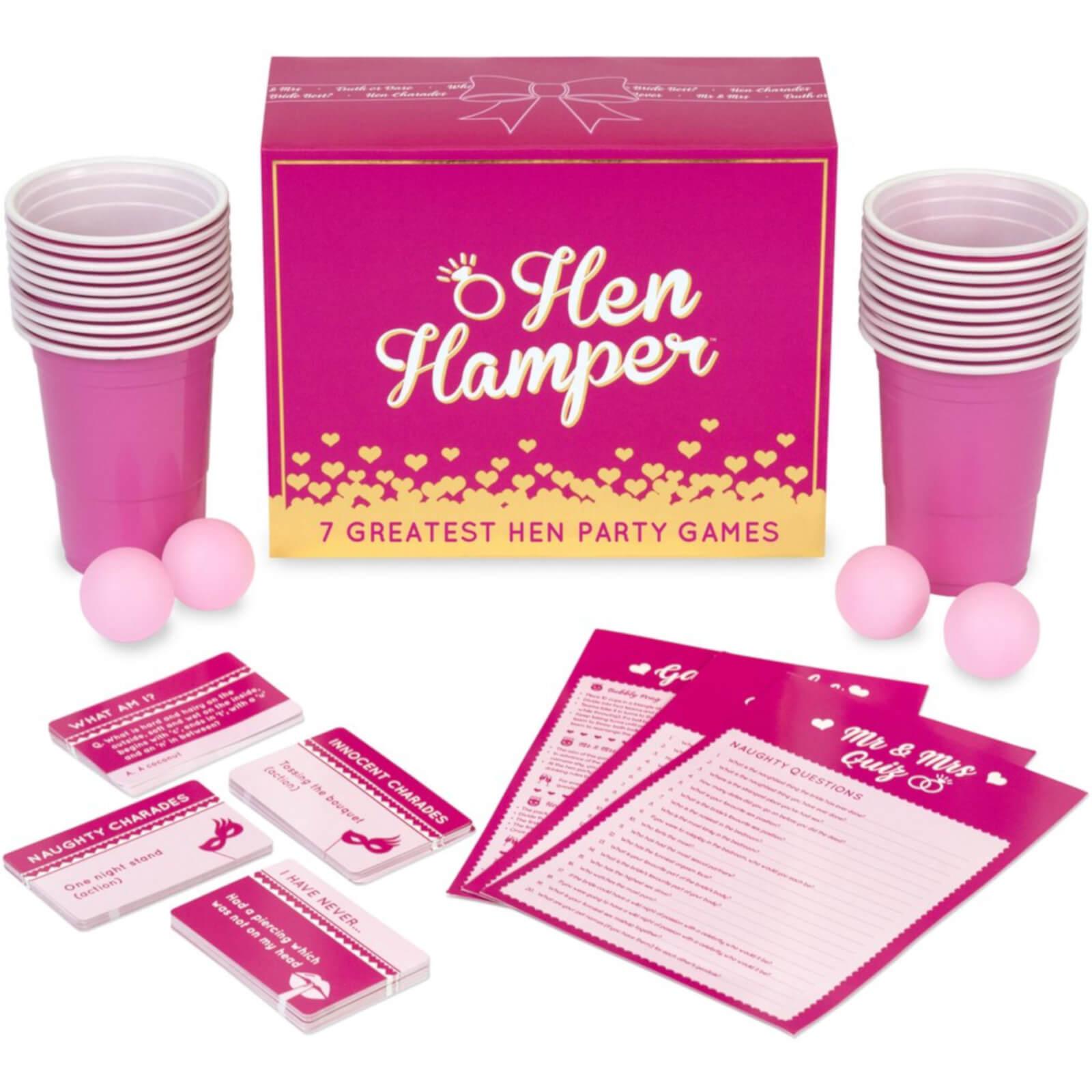 Gutter Games Hen Hamper 7 Greatest Hen Party Games