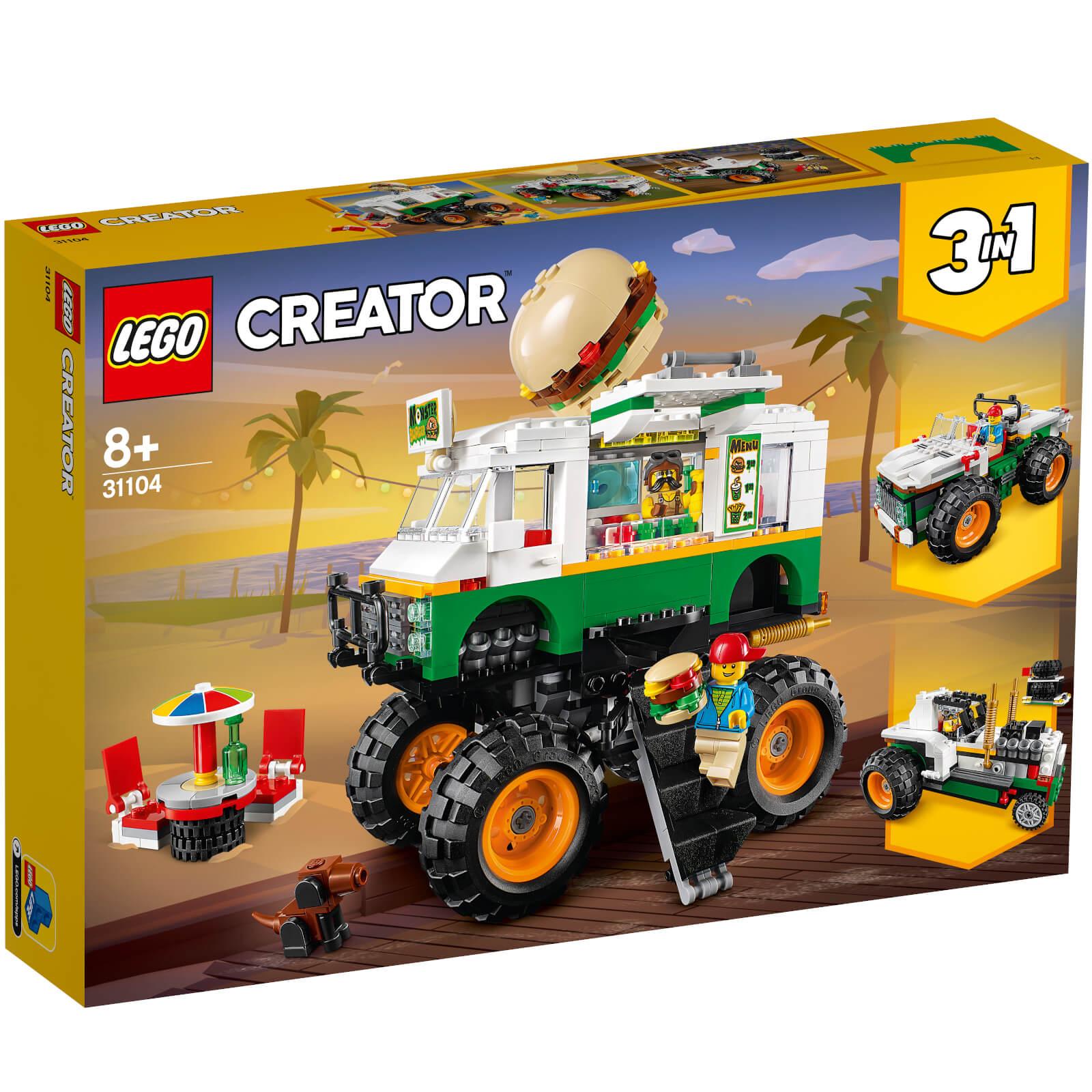 Lego Creator: Monster Burger Truck (31104)