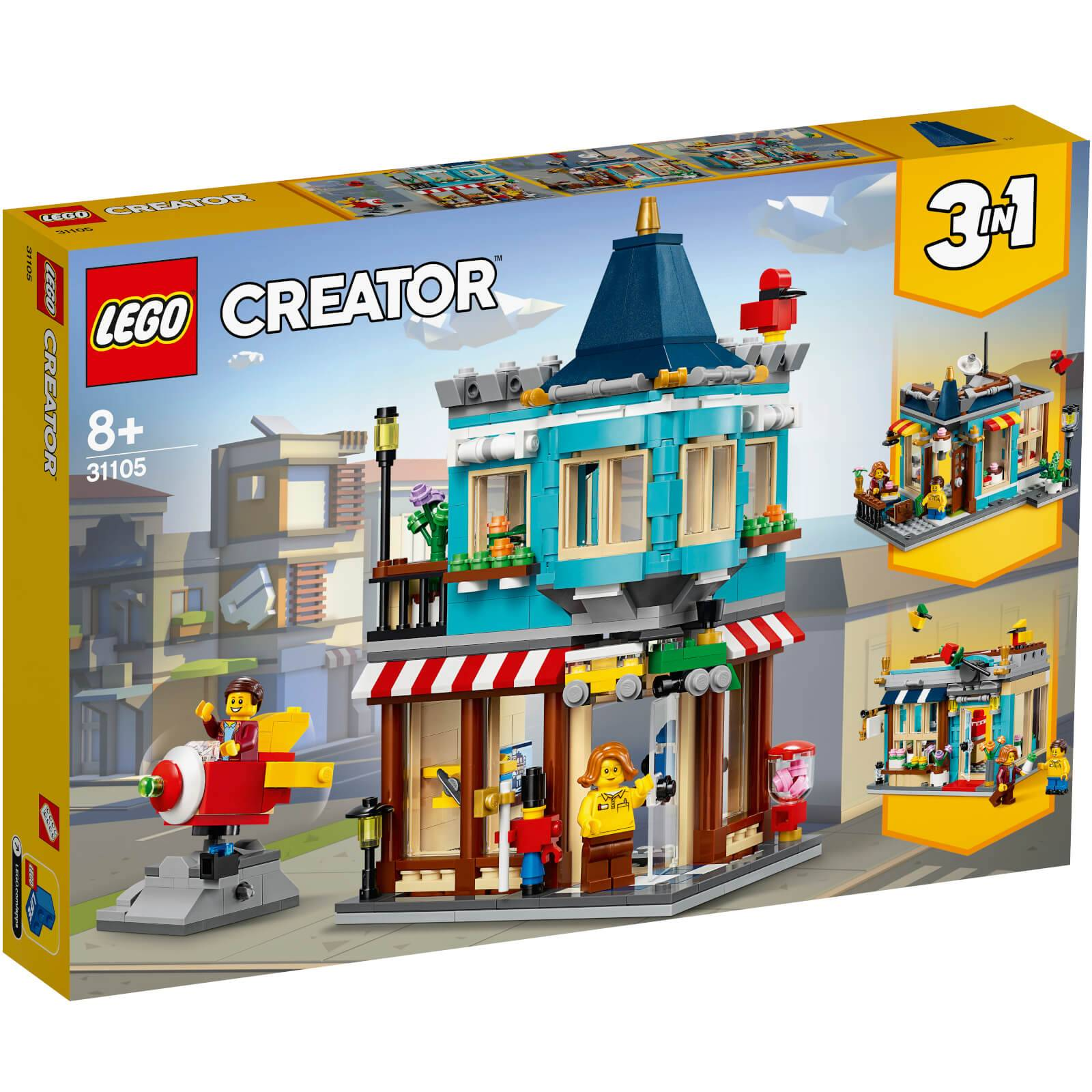Lego Creator: Townhouse Toy Store (31105)