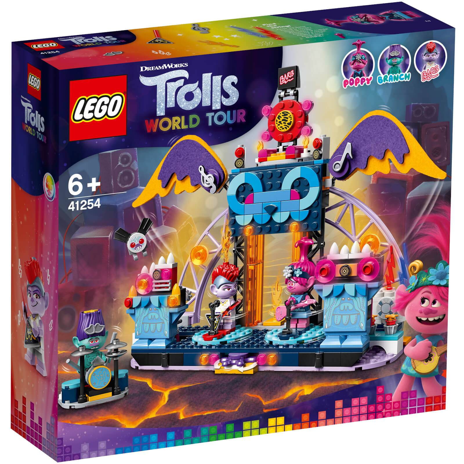 Lego Trolls: Volcano Rock City Concert (41254)