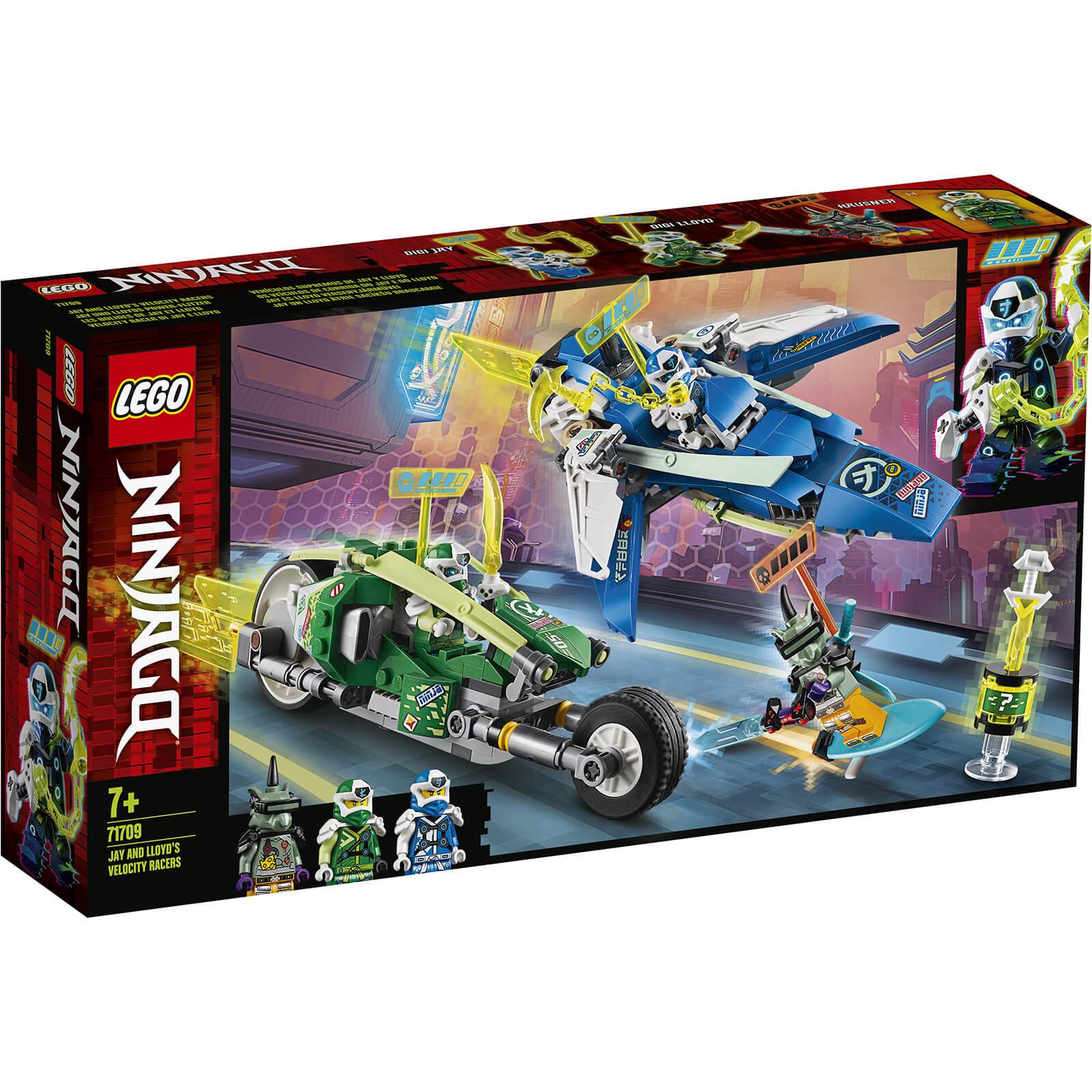 Lego Ninjago: Jay and Lloyd's Velocity Racers (71709)