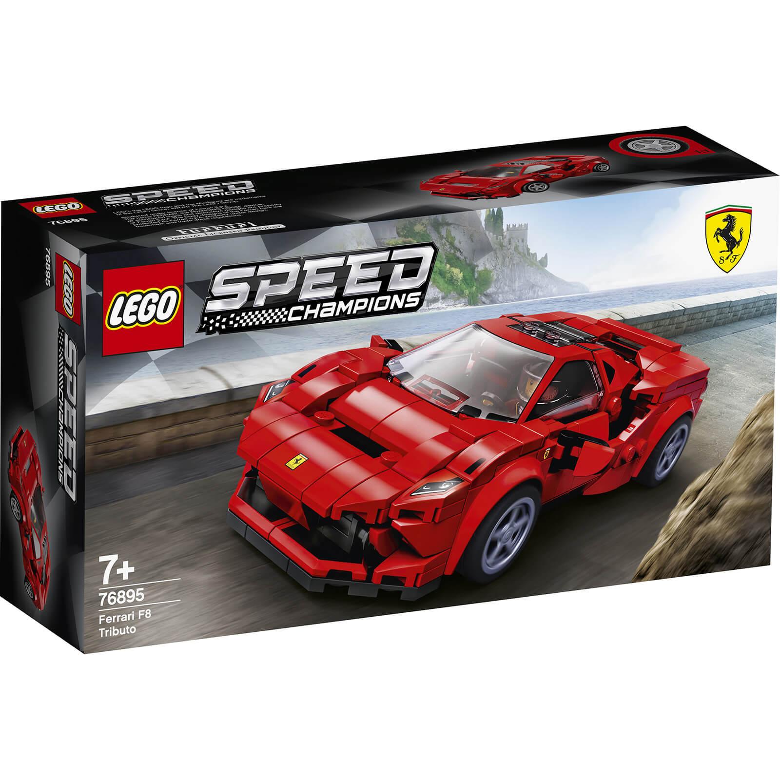 Lego Speed Champions: Ferrari F8 Tributo (76895)