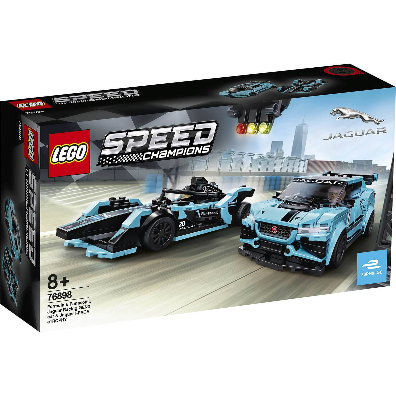 Lego Speed Champions: Formula E Panasonic Jaguar Racing GEN2 c (76898)