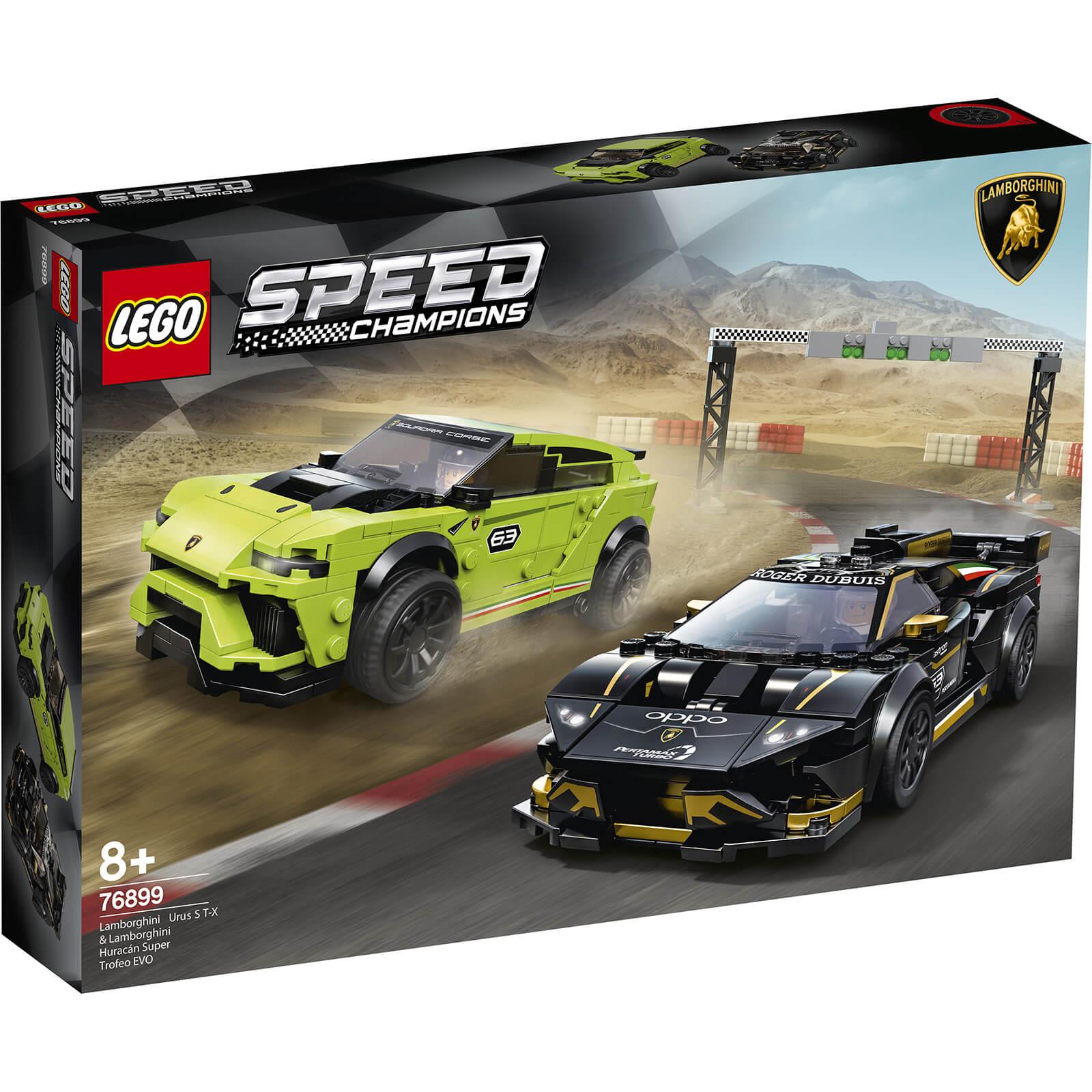 Lego Speed Champions: Lamborghini Urus ST-X & Lamborghini Hura (76899)