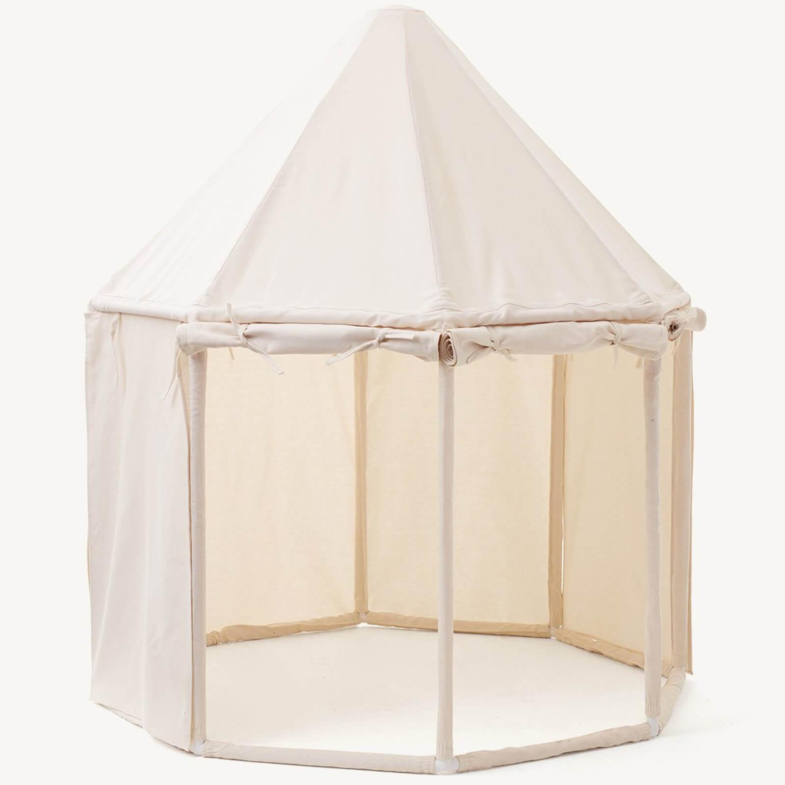 Kids Concept Pavillion Tent - Off White