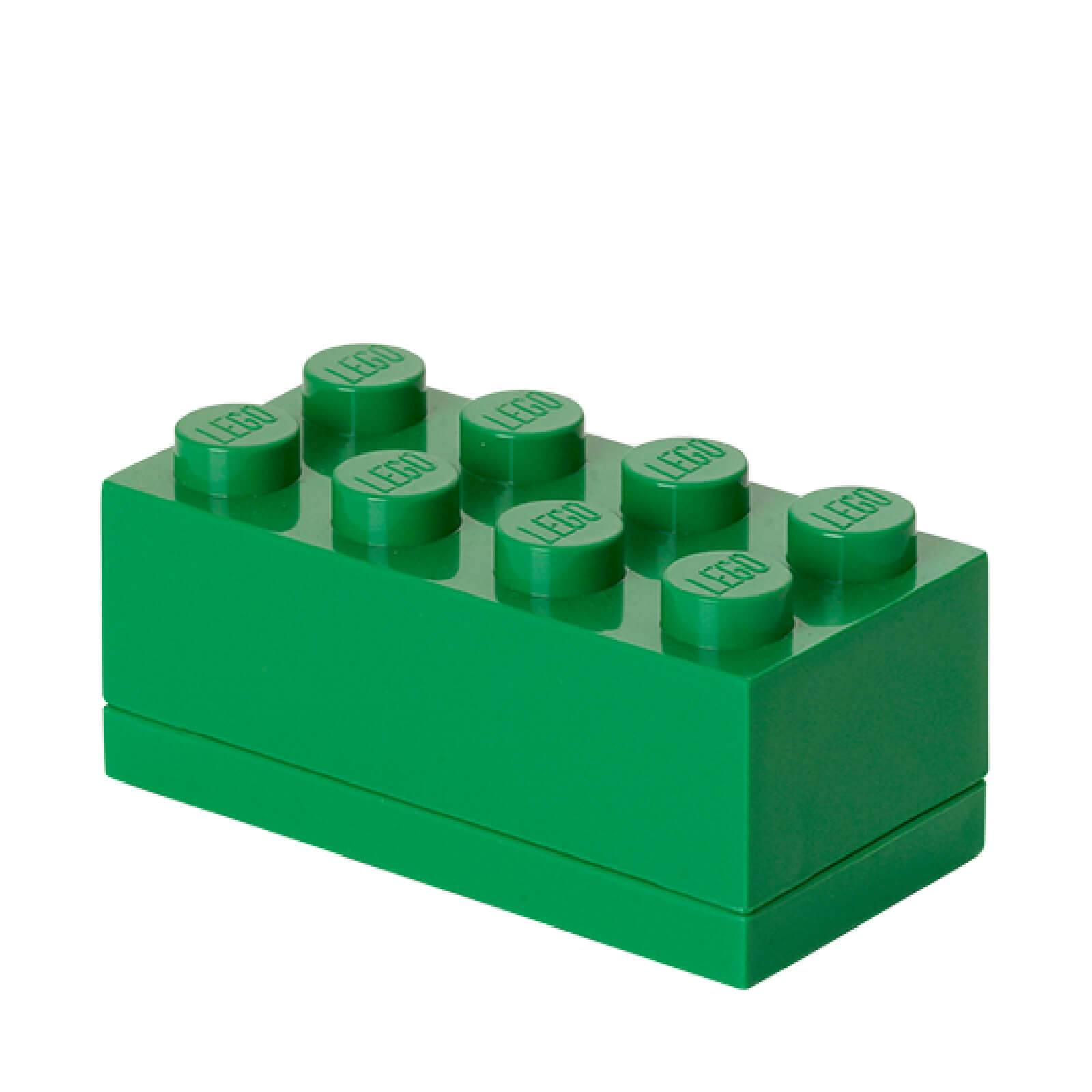Lego Mini Box 8 - Dark Green