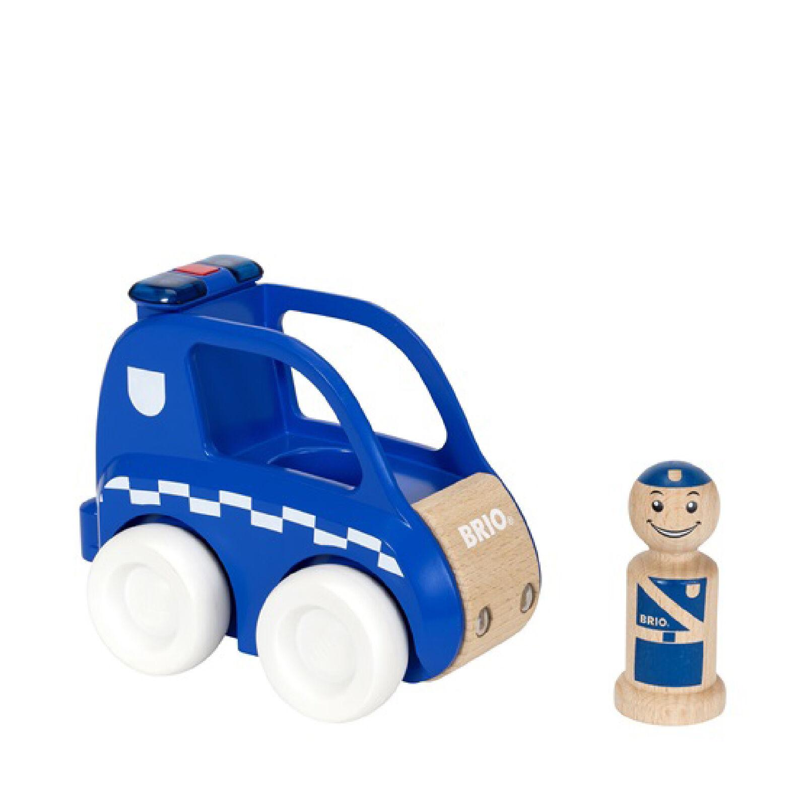 Brio Light and Sound Police Car
