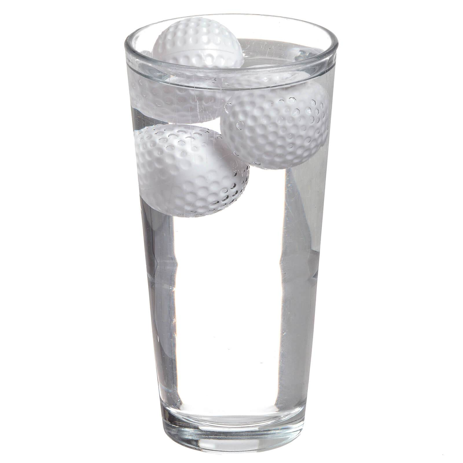 Mixology 19th Hole  Golf Ball Drink Coolers - White