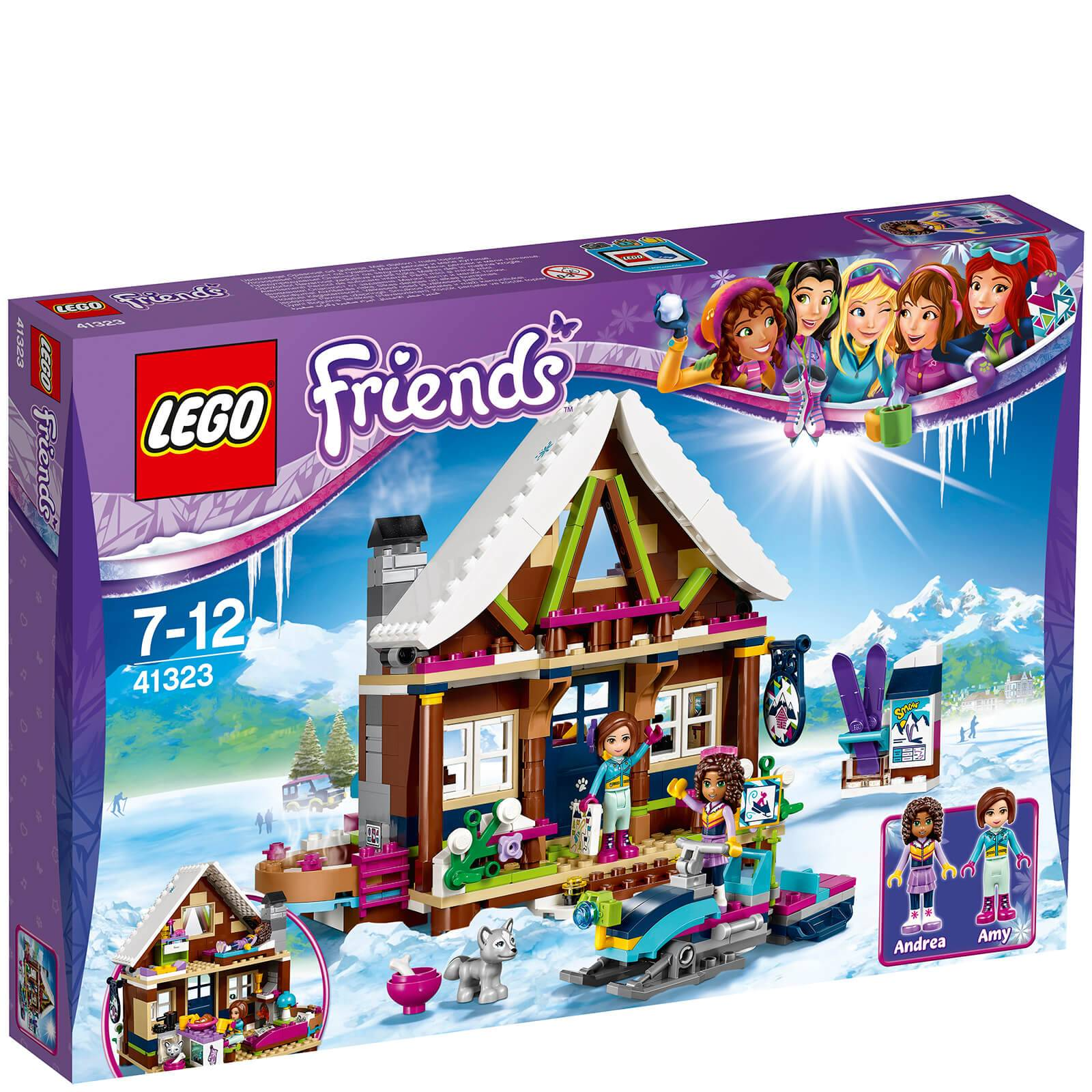Lego Friends: Winter Holiday Snow Resort Chalet (41323)