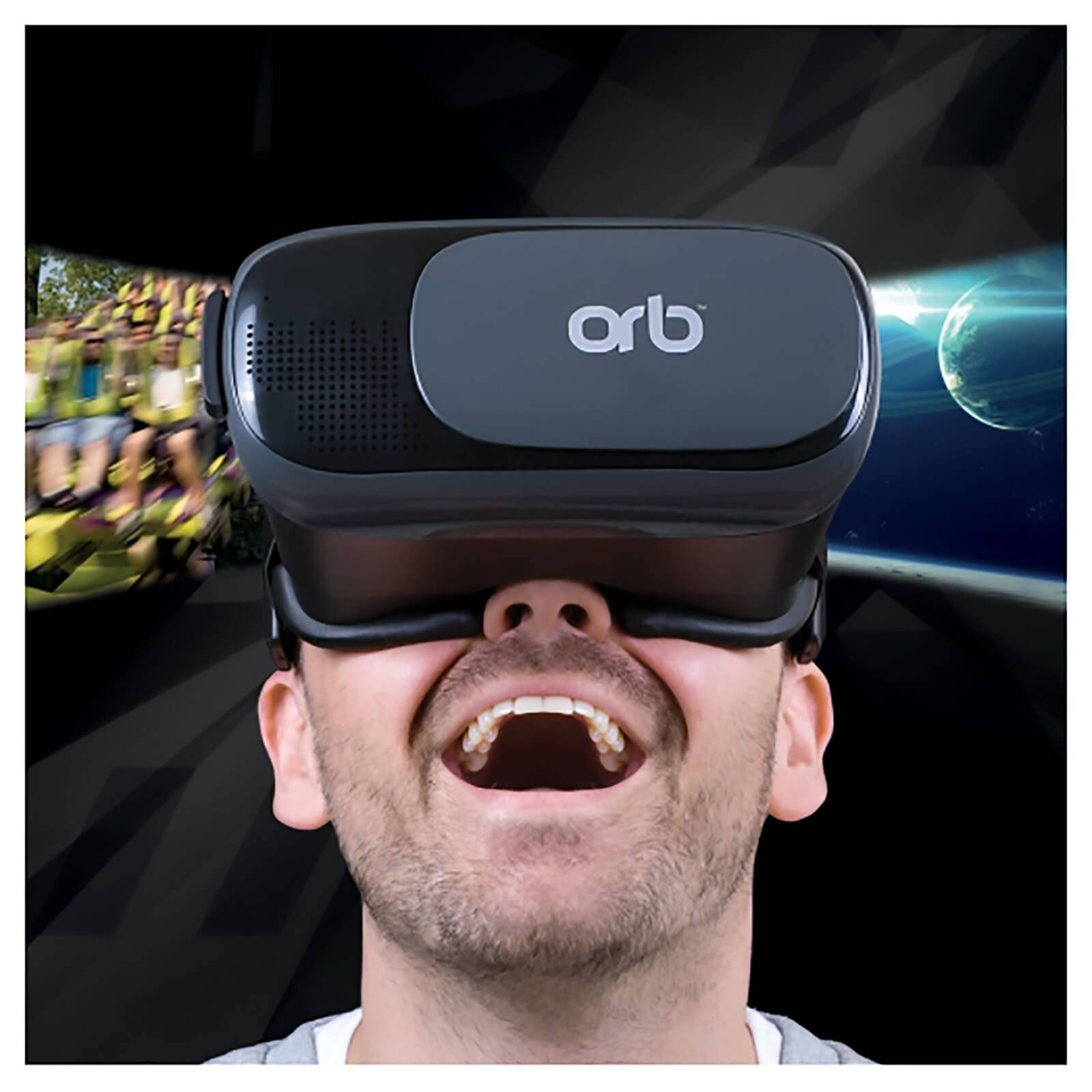 Thumbs Up Orb Virtual Reality Headset