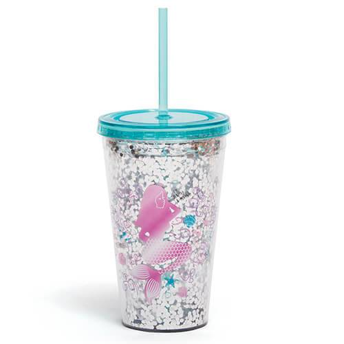Mermaid Straw Cup