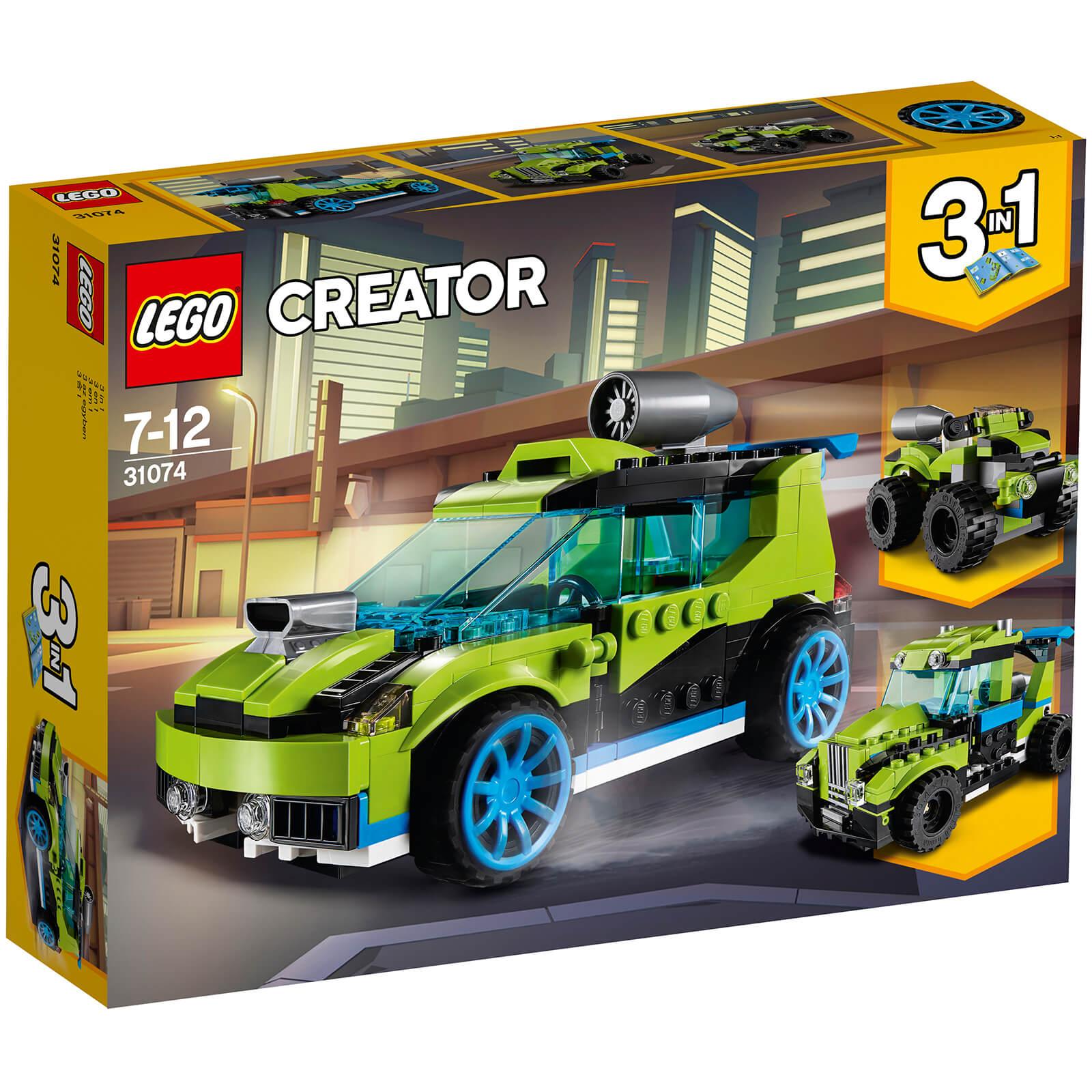 Lego Creator: Rocket Rally Car (31074)