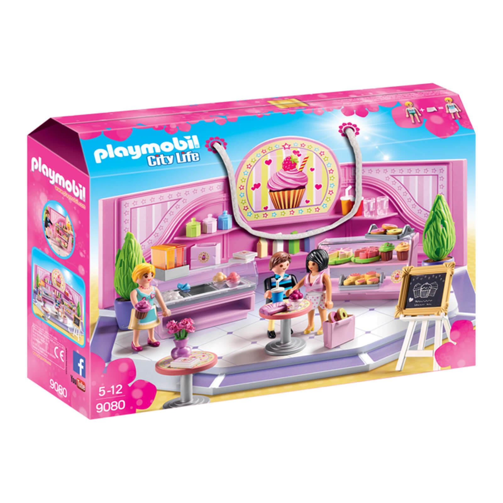 Playmobil City Life Cupcake Shop (9080)