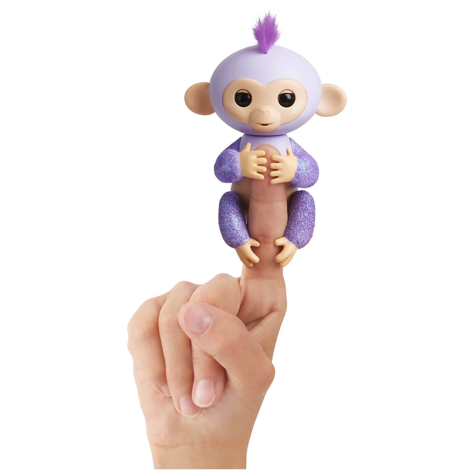 Fingerlings Baby Monkey - Glitter - Kiki (Purple)