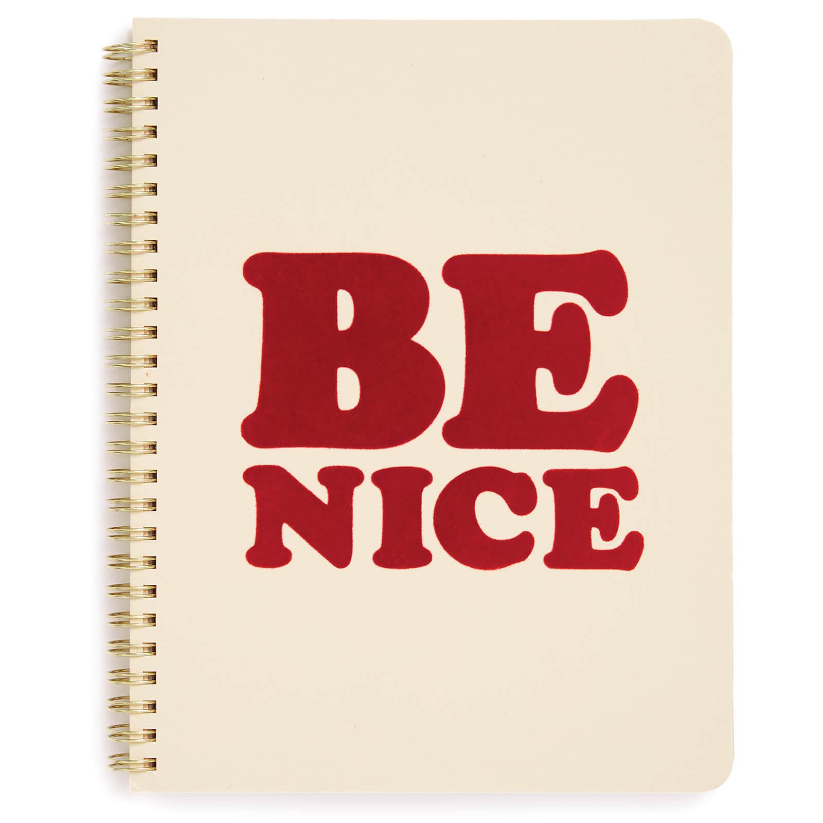 Ban.do Rough Draft Mini Notebook - Be Nice