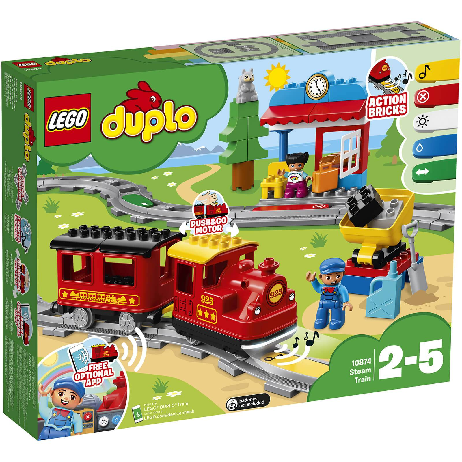 Lego DUPLO Town: Steam Train (10874)