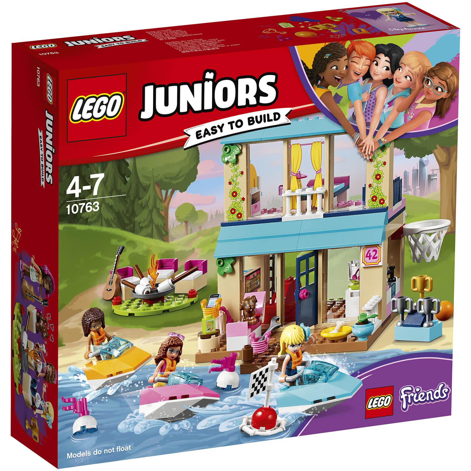 Lego Juniors Friends: Stephanie's Lakeside House (10763)