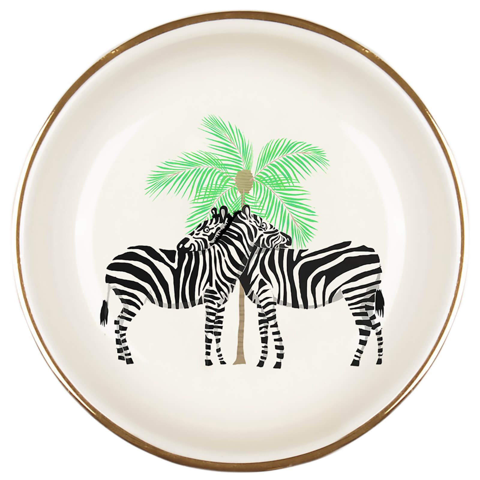 Fenella Smith Zebra Ring Plate