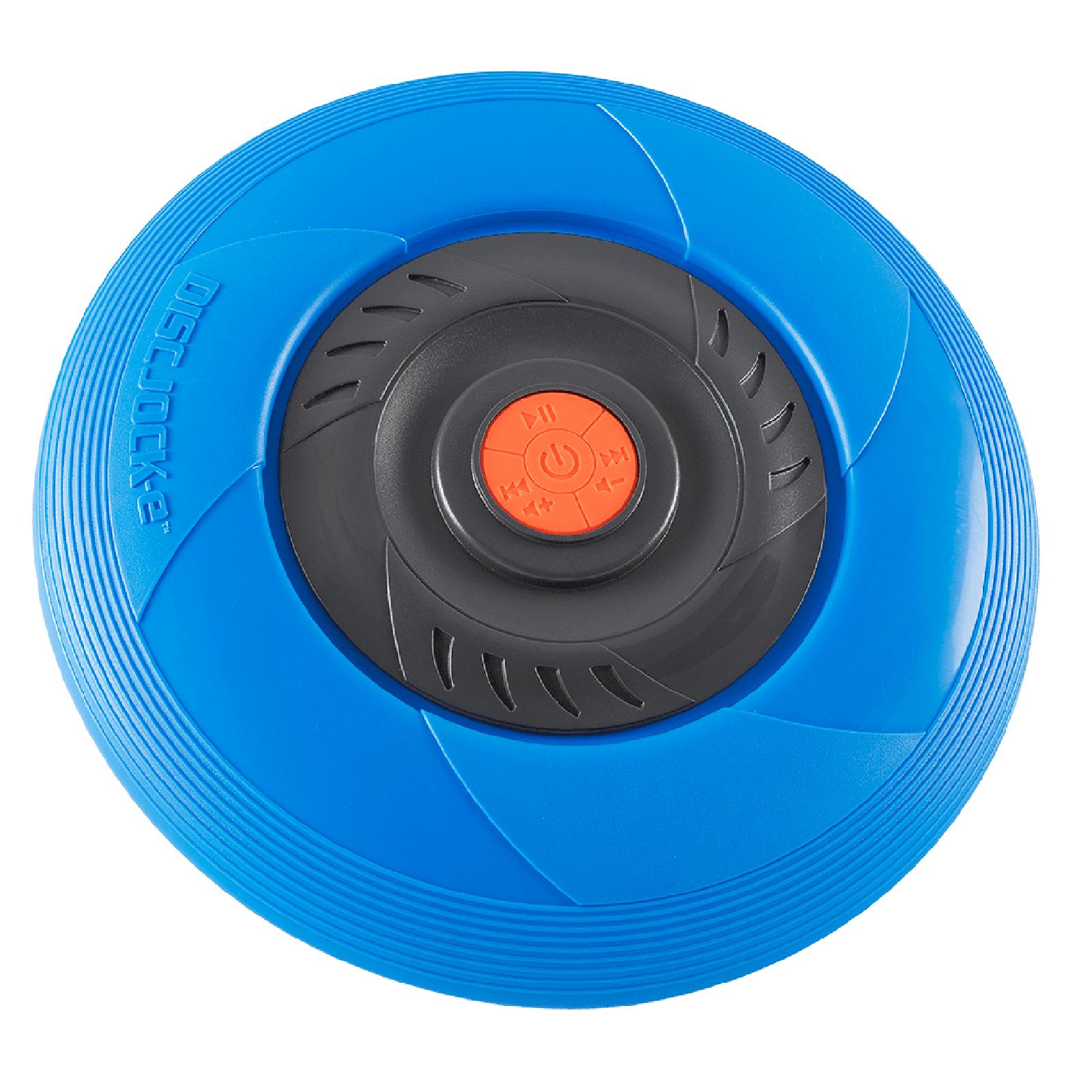 Tucker Disc Jock-e Flying Music Disc - Blue