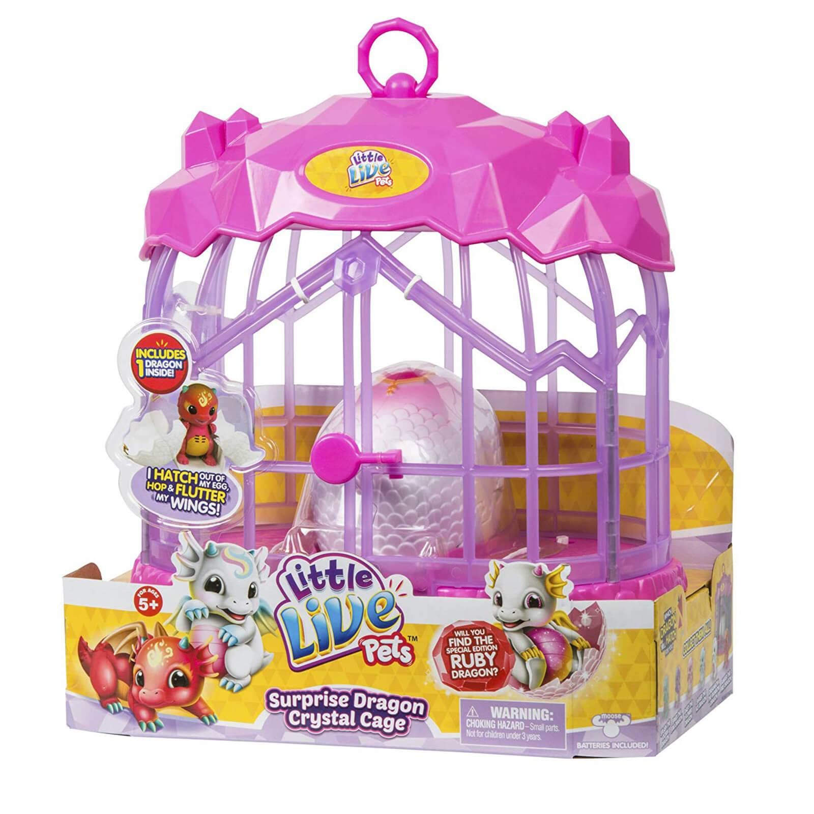 Character Options Little Live Pets Dragon Crystal Cage - Series 1