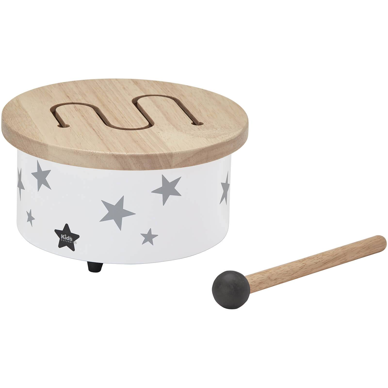 Kids Concept Mini Drum - White