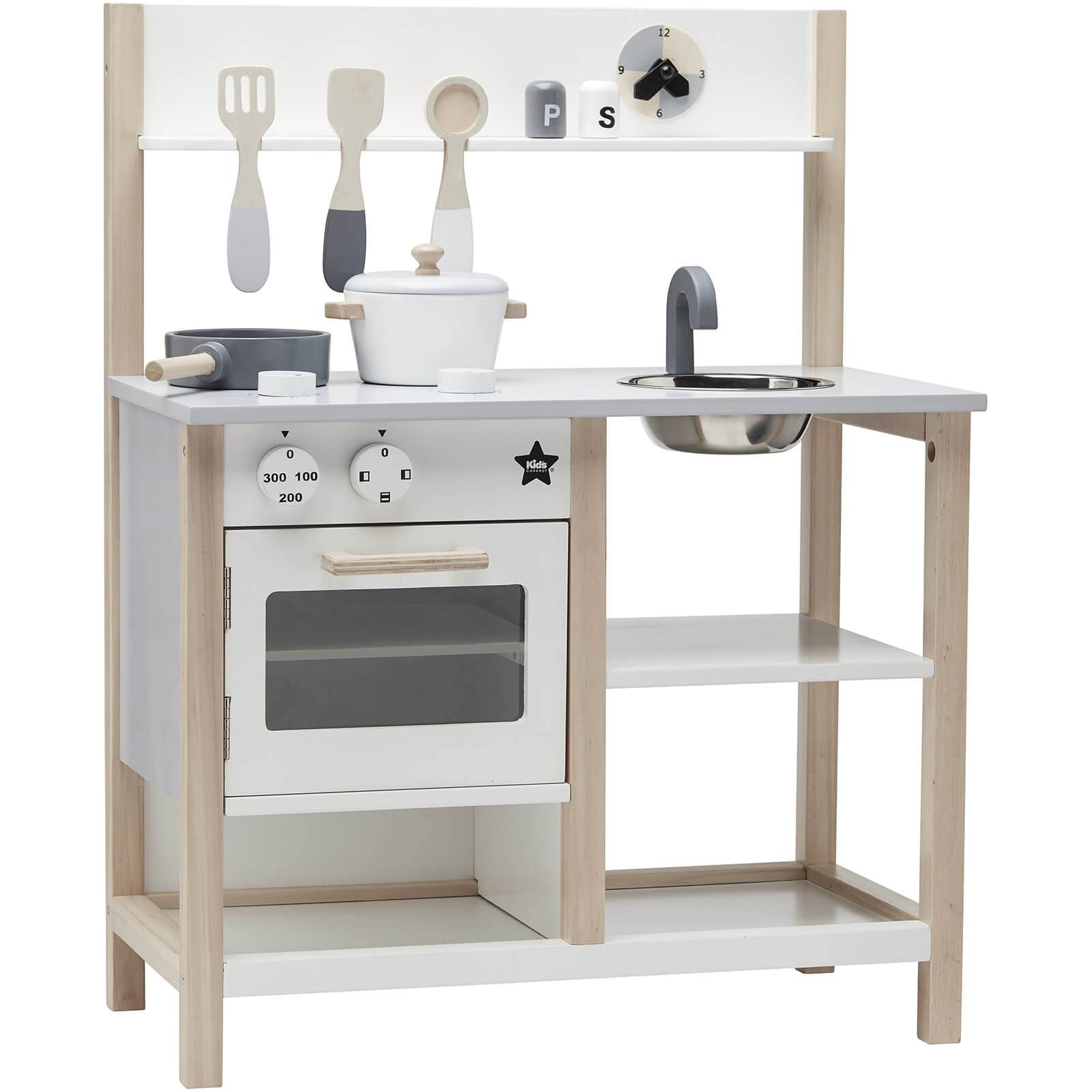 Kids Concept Kitchen - Natural/White