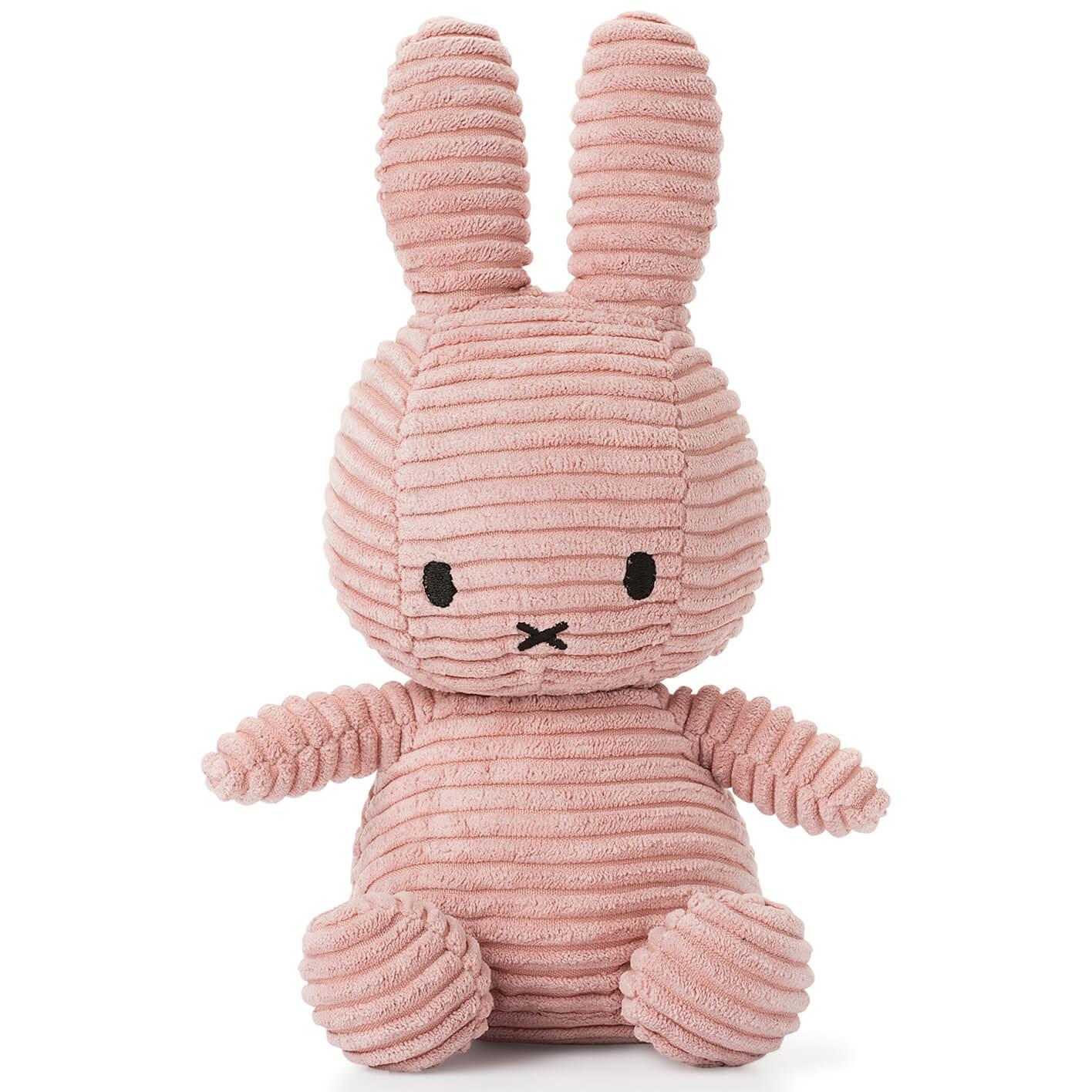 Miffy Sitting Corduroy - Pink