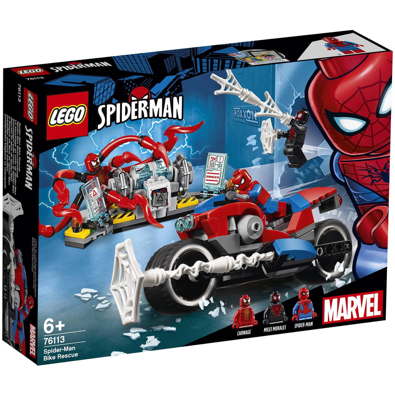 Lego Super Heroes: Spider-Man Bike Rescue (76113)